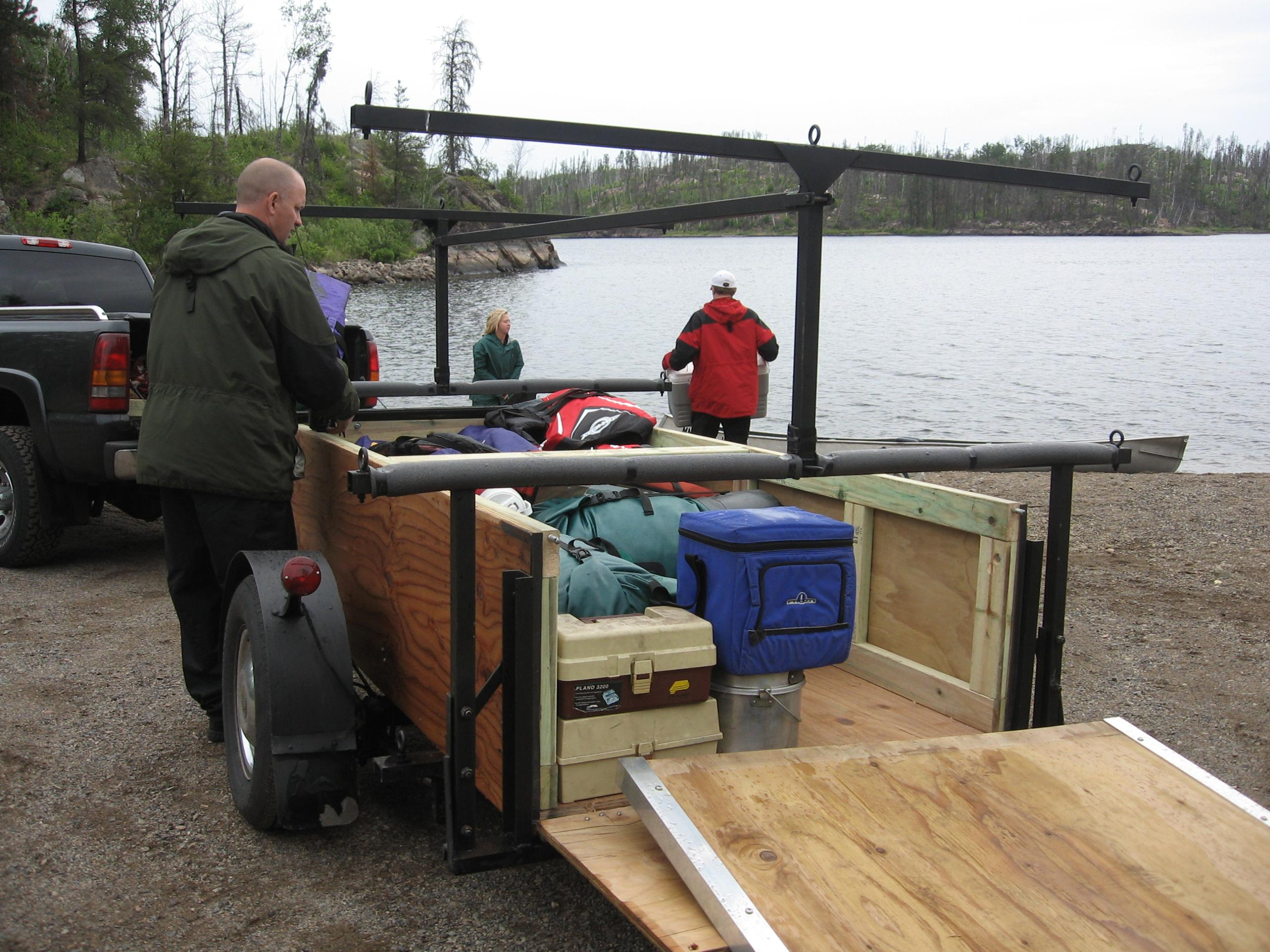 Canoe trailer on pinterest utility trailer stables and twin cities