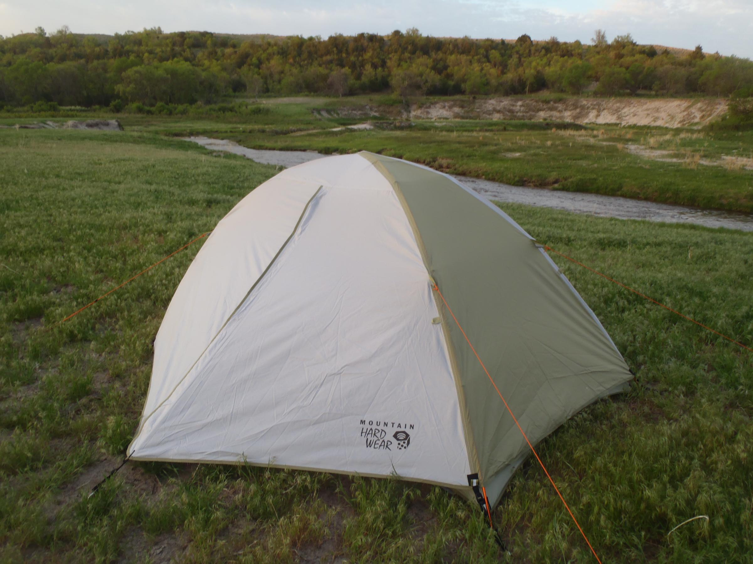 It could sleep two provided the people are not too large and donu0027t mind sleeping shoulder to shoulder on 20  mats. I got lucky and found mine on Steep and ... & BWCA Another Stupid Tent Question Boundary Waters Gear Forum