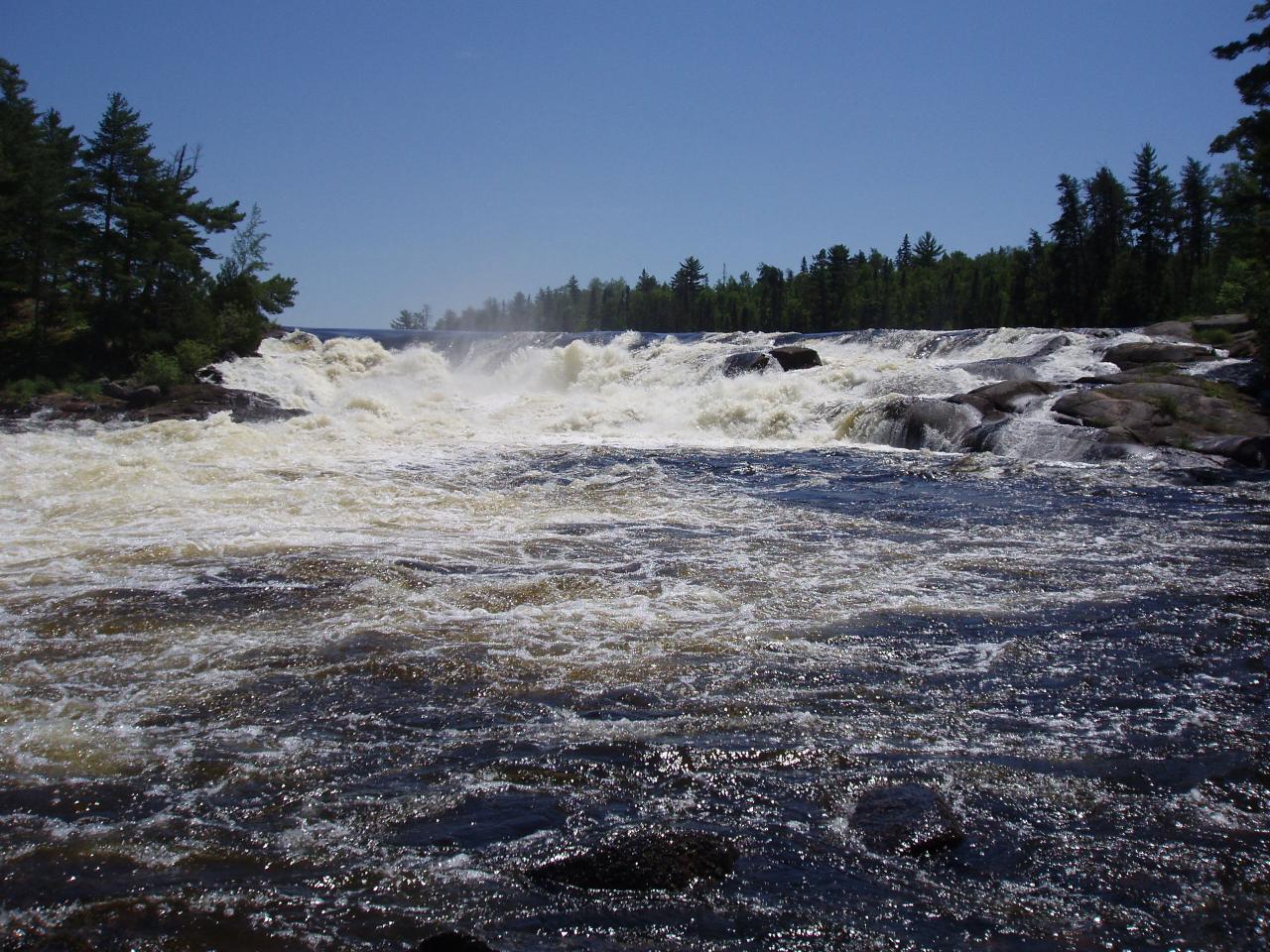 BWCA Curtain Falls Rebecca Gebe Boundary Waters Trip