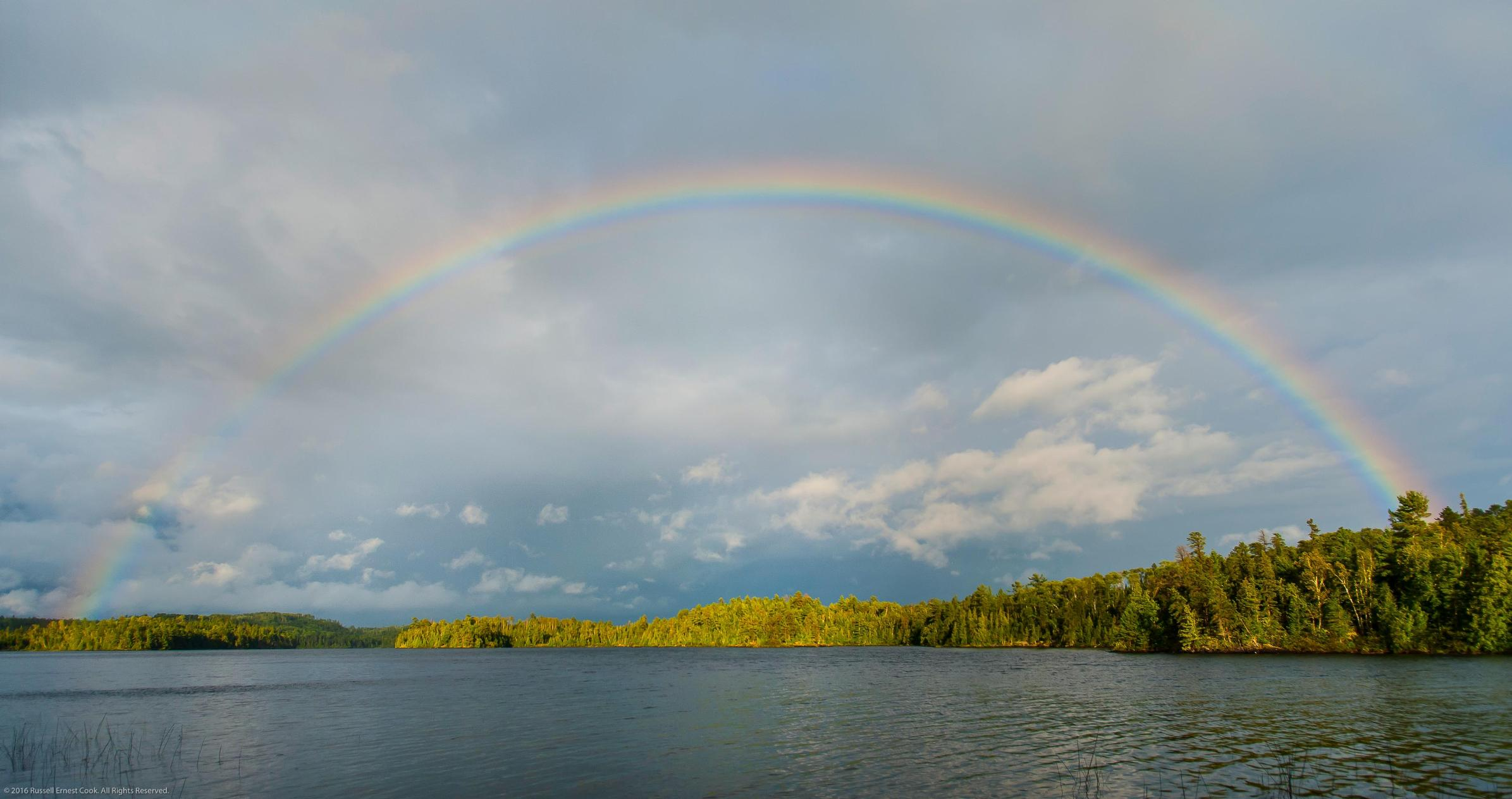 Rainbow Over Carp Lake