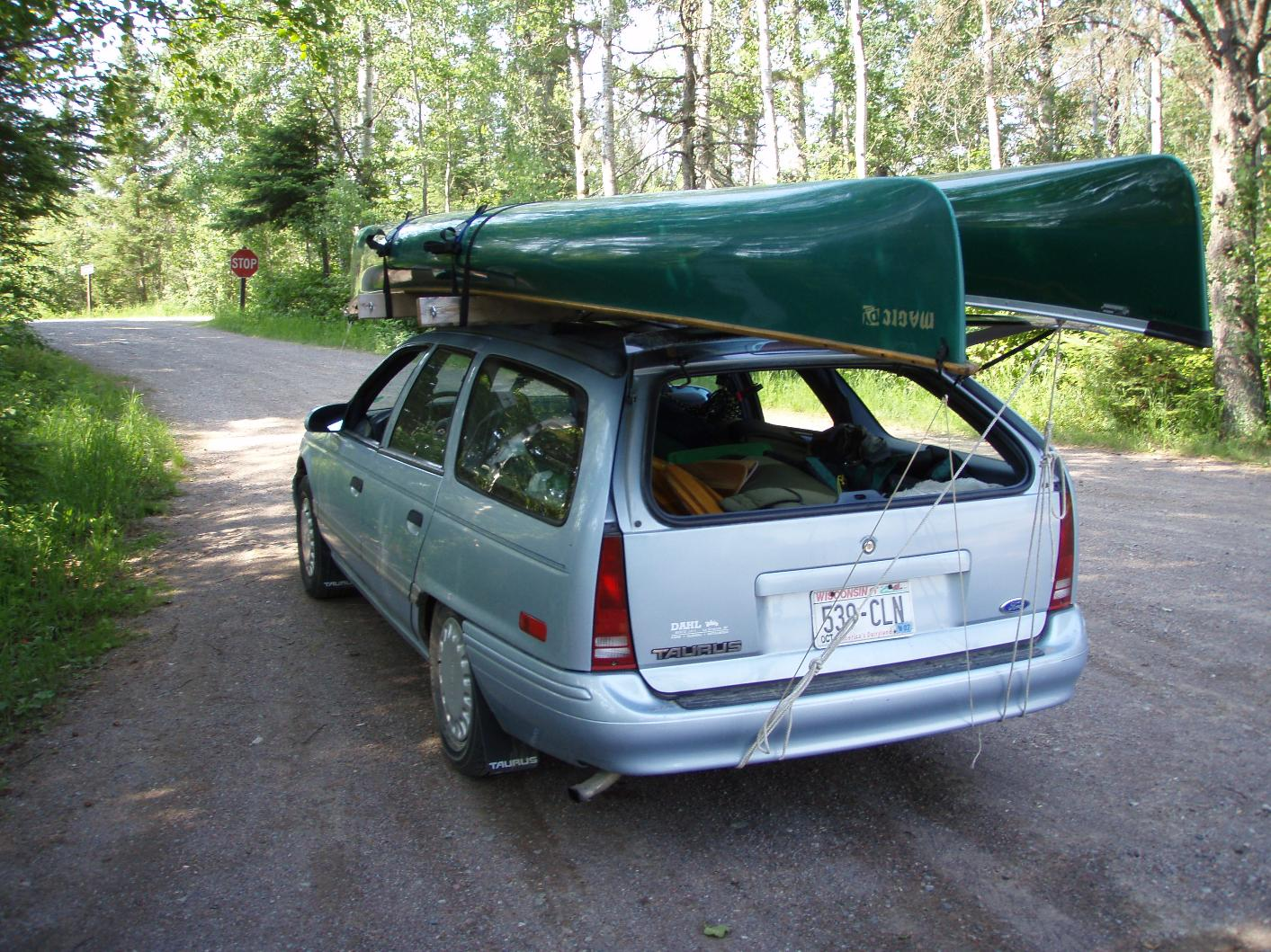 BWCA 2x4 Roof Rack Boundary Waters Listening Point   General Discussion