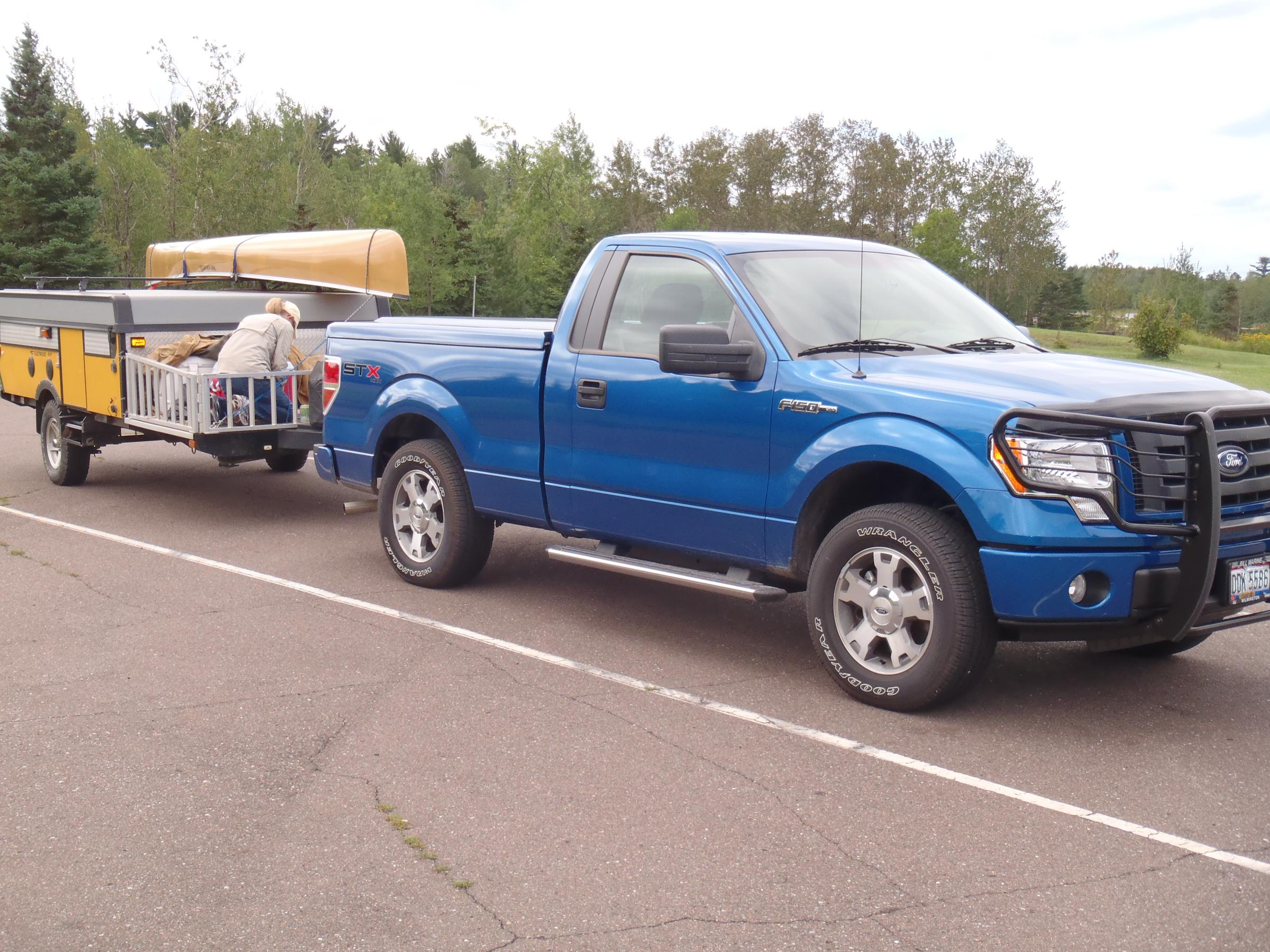 BWCA Hauling Canoes Cost MPG\'s? Boundary Waters Listening Point ...
