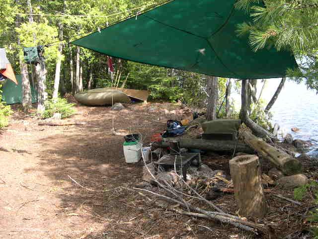 LTL Campsite - NW corner