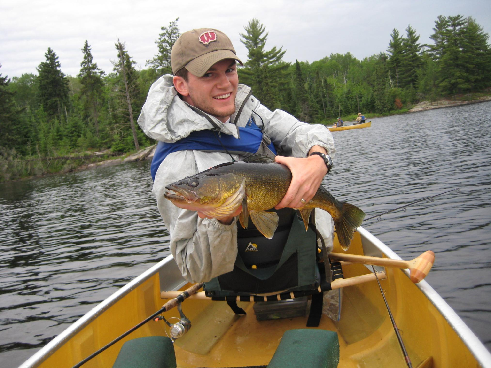 Bwca 2010 presentation for bwca walleyes boundary waters for Boundary waters fishing