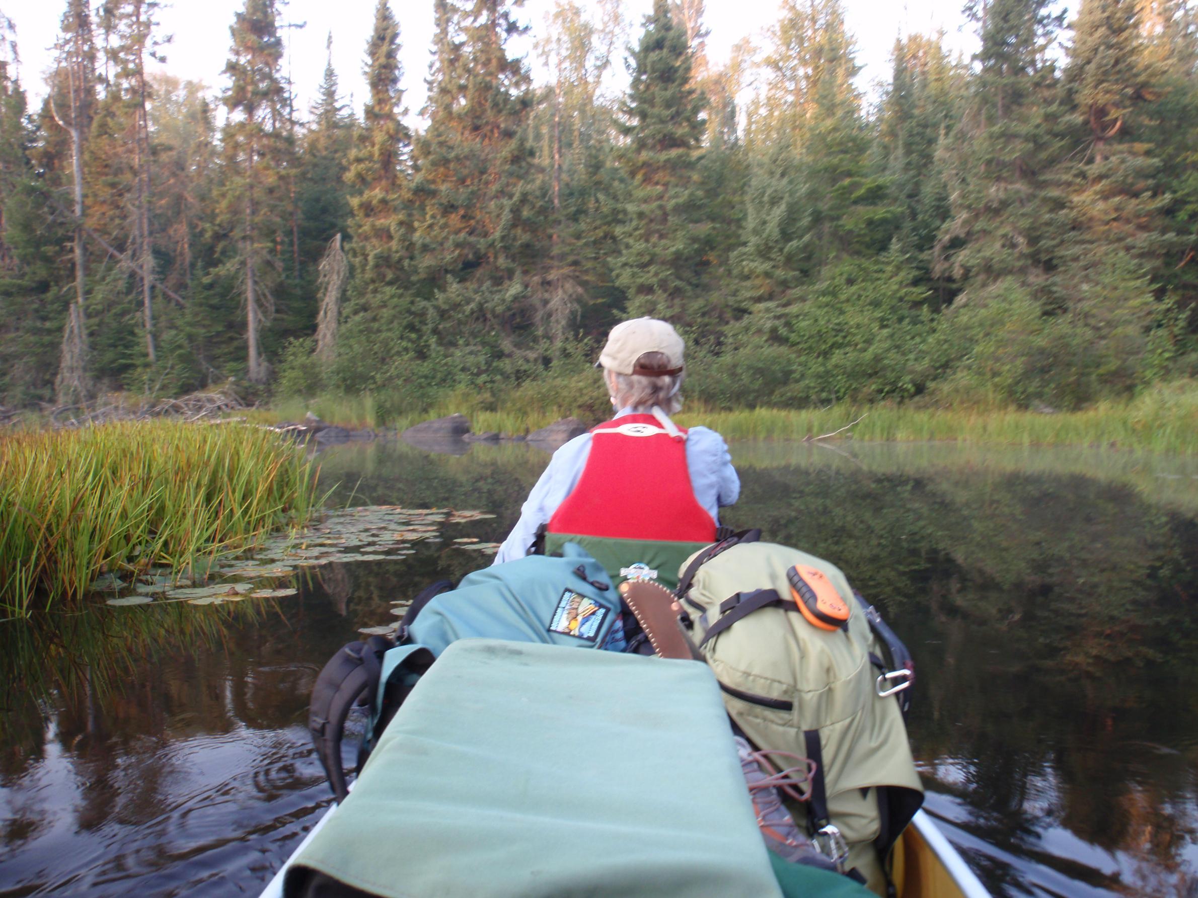 Cross Bay River-The trip starts