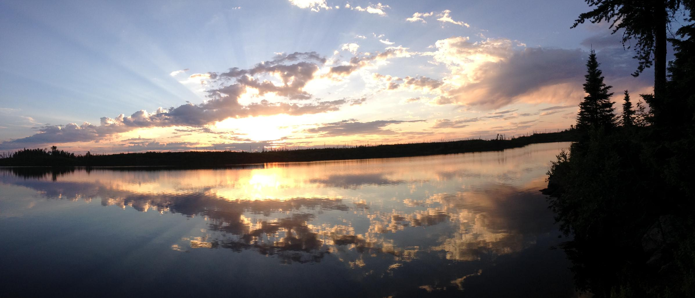 Gull Lake Sunset