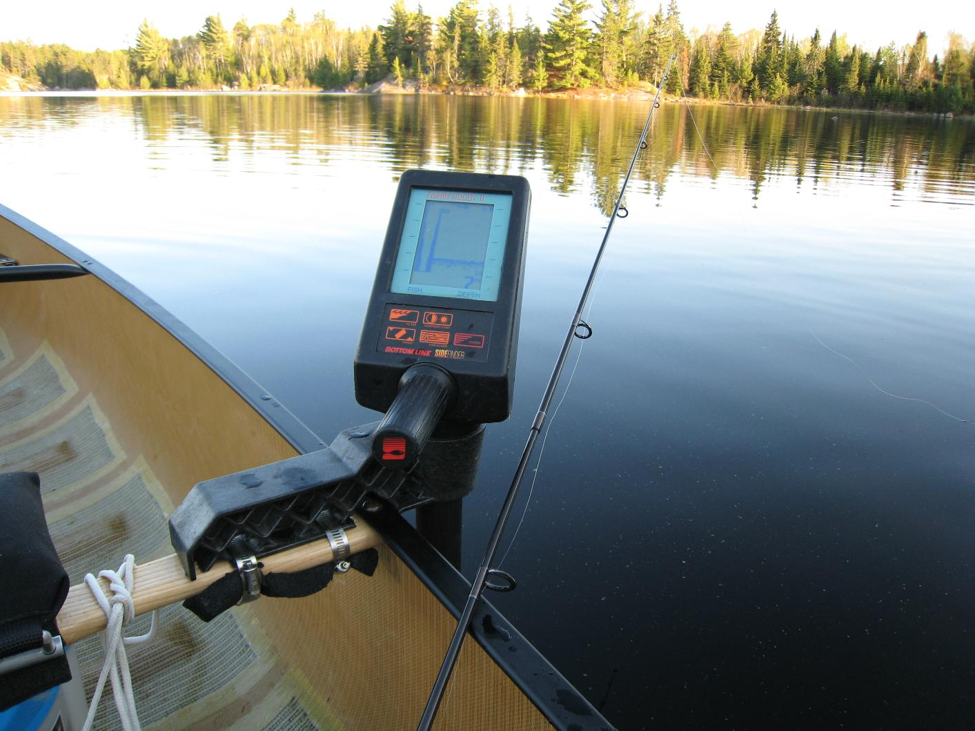 bwca portable fish finder boundary waters fishing forum, Fish Finder