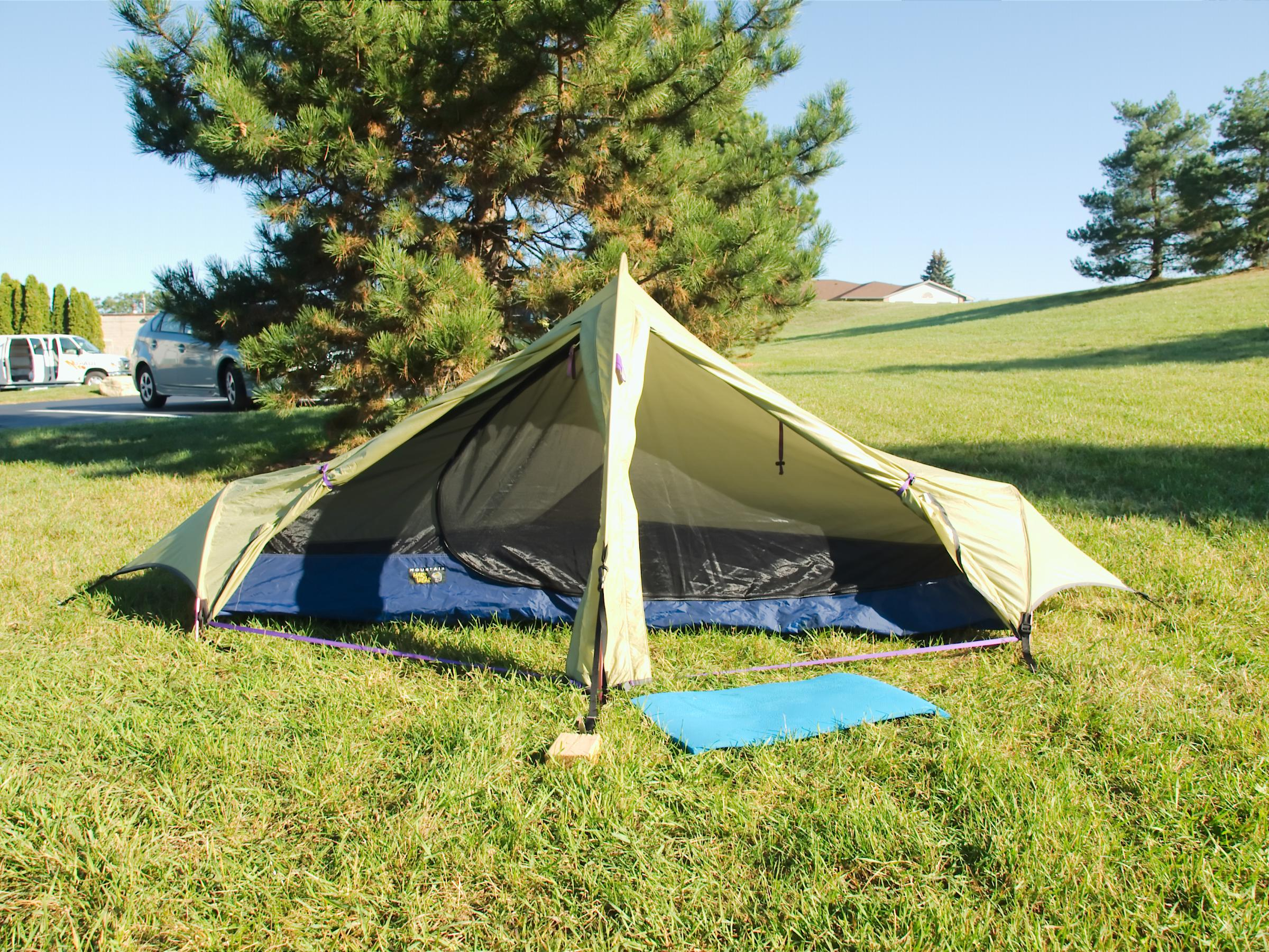 The tunnel tent will erect fine with good anchors at the vestibules/ends I have used tree roots/logs/rocks. Very wind resistant I seldom ... & BWCA Hilleberg Boundary Waters Gear Forum