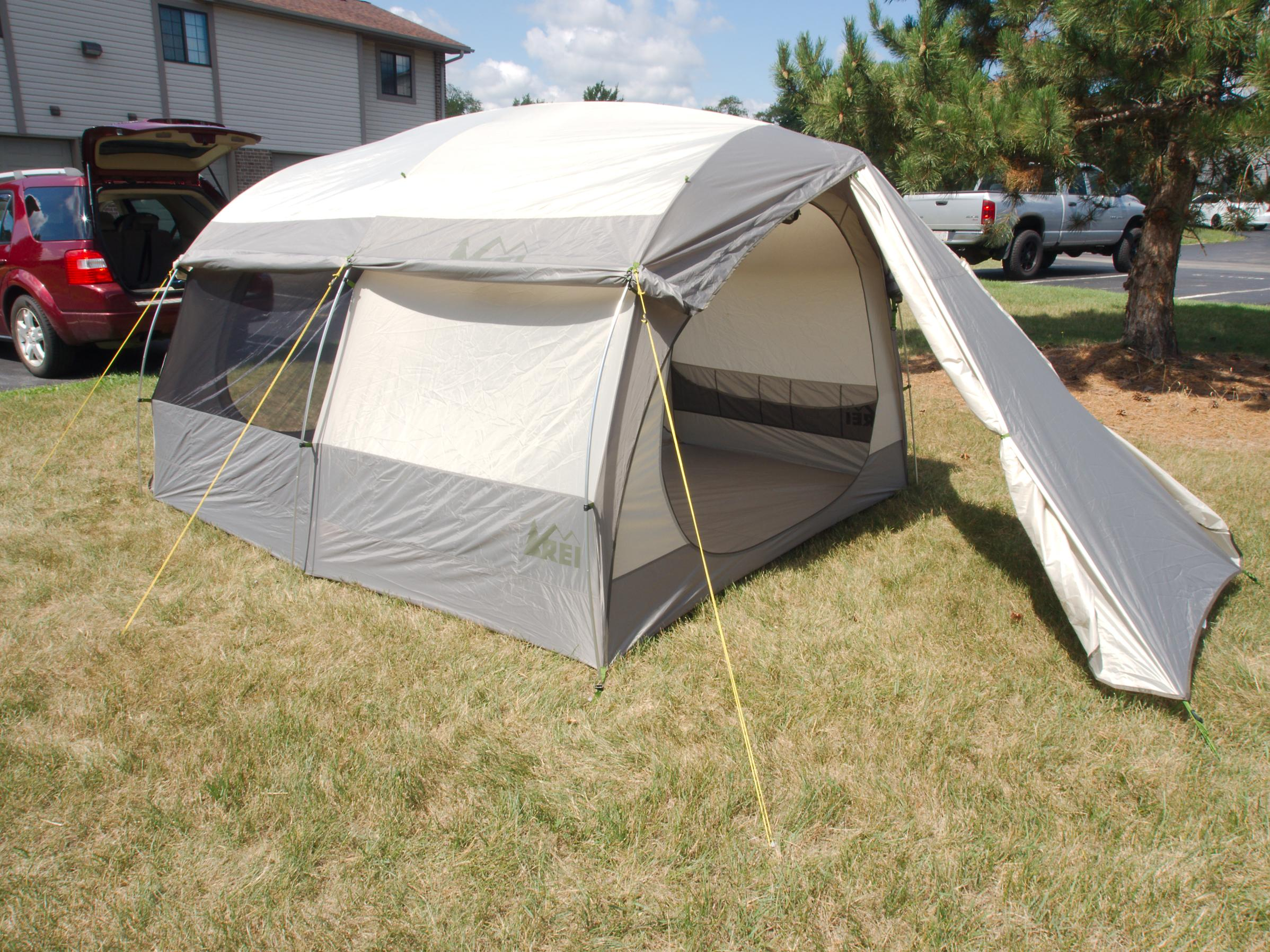 Purchased last Aug. at REI Garrage Sale (tiny burn hole inside side wall) used one time so far. A KingDome 8 is also available. It will replace my BA ... & BWCA Car camping tent... rei kingdom what ya think? Boundary ...