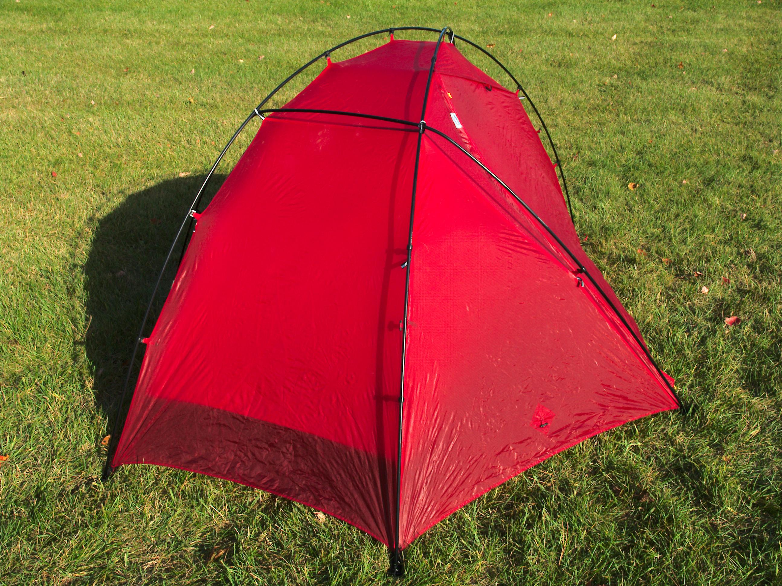 ... 4 season double wall free standing 3 pound (my scale no stakes or bags but otherwise fully assembled) 2 door/vestibule solo tent. & BWCA solo tent preview Boundary Waters Gear Forum
