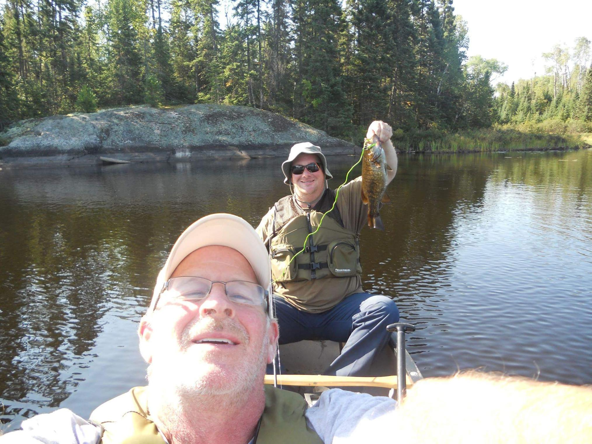 Fishing the Kawishiwi river