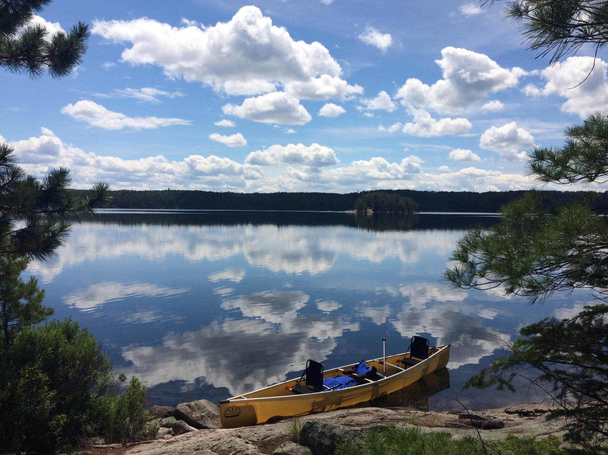 Batchewaung Bay - Quetico  July 2016