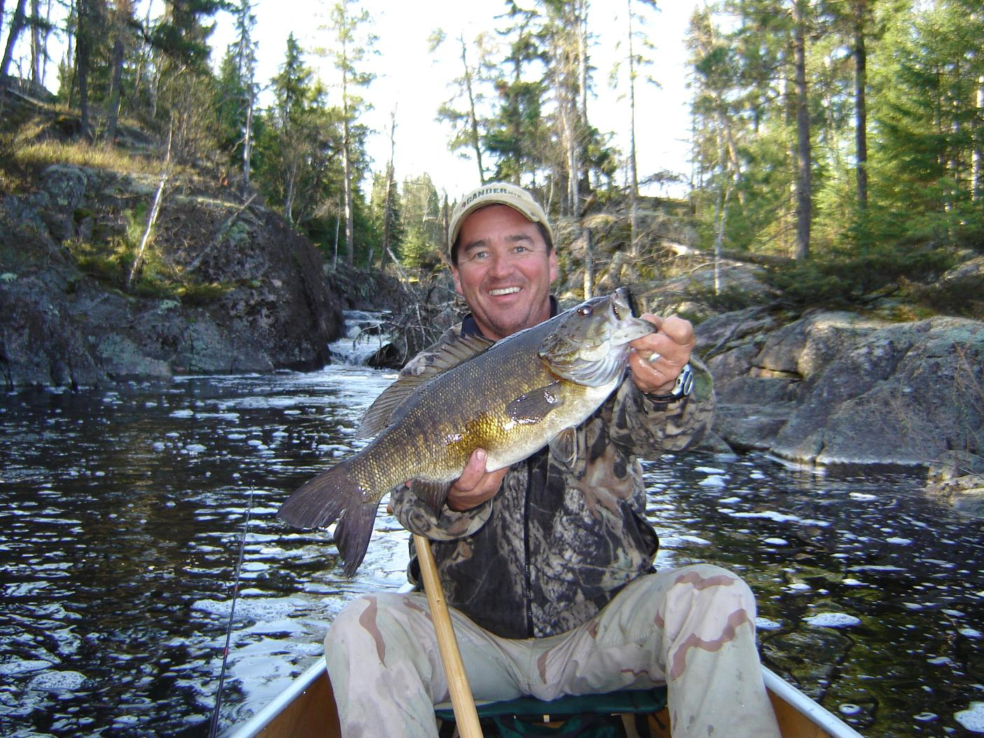 Bwca big smallie hotspot boundary waters fishing forum for Boundary waters fishing