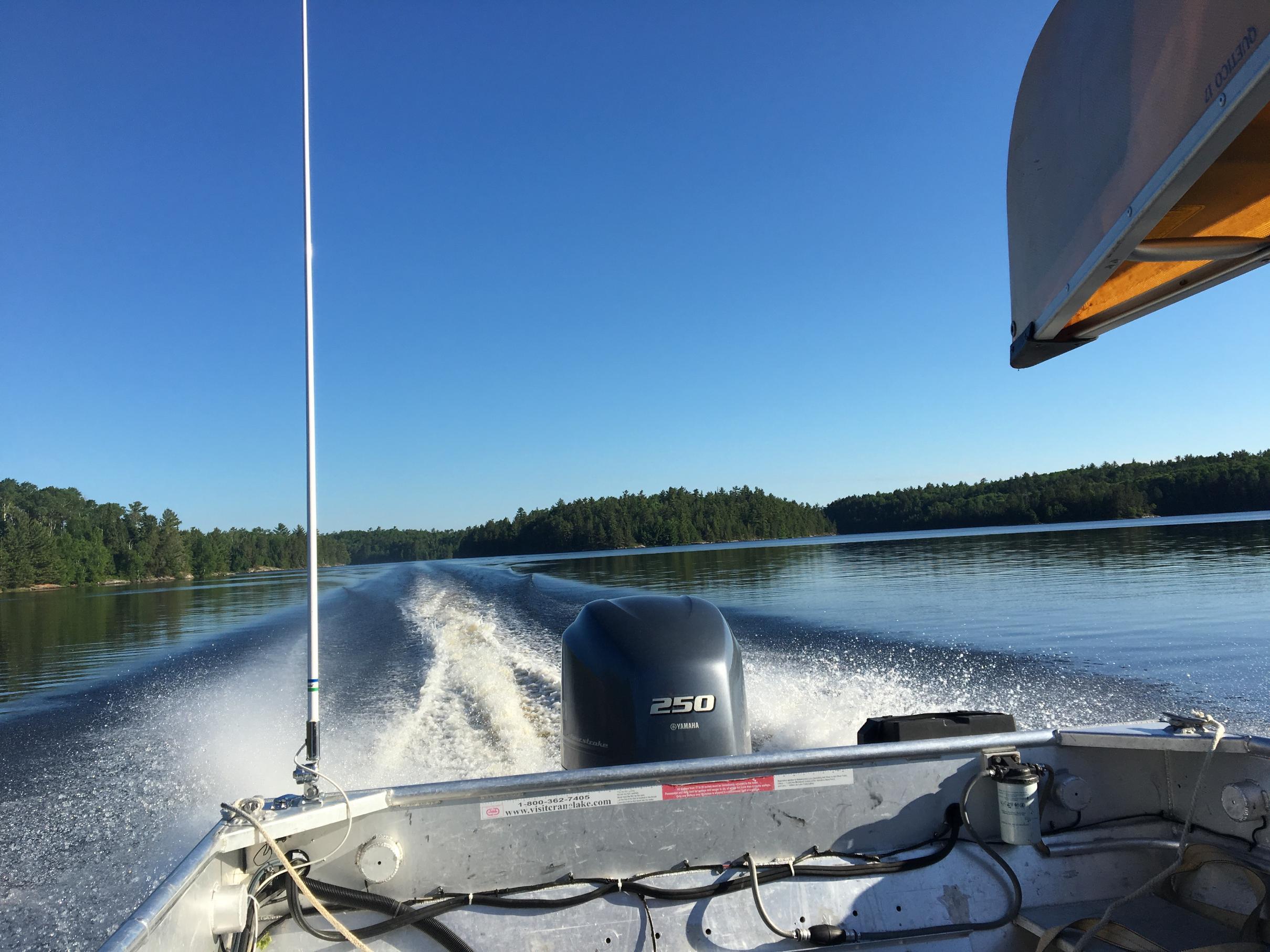Lac La Croix Tow