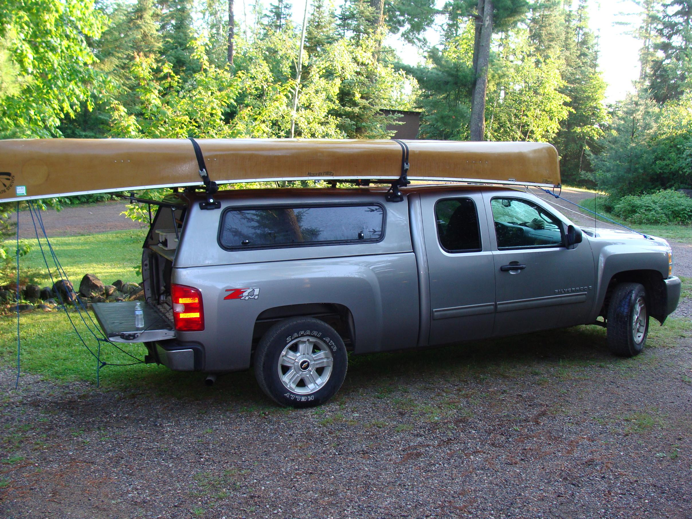 BWCA CrewCab Pickup With Topper Canoe Transport Question Boundary Waters Gear Forum