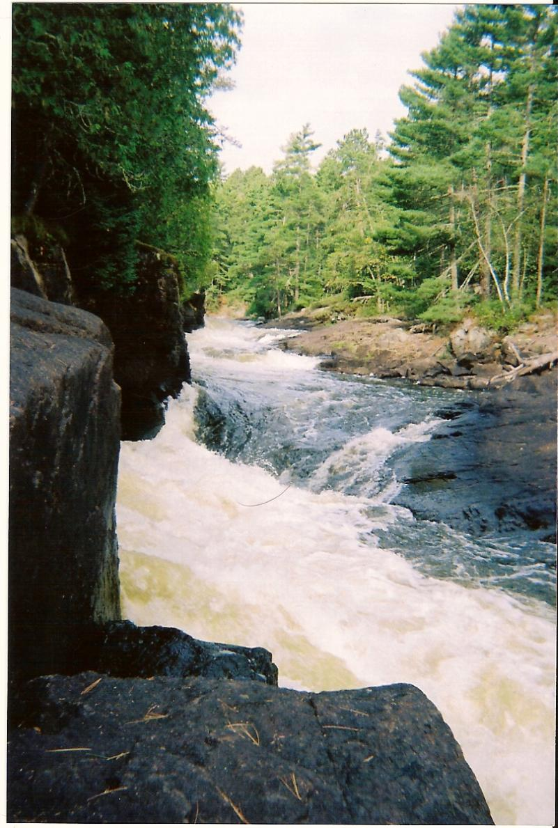 Bwca Curtain Falls Rebecca Falls Gebe Boundary Waters