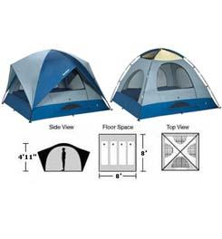 Text  sc 1 st  BWCA.com & BWCA Eureka Sunrise 8 Tent Boundary Waters Gear Forum