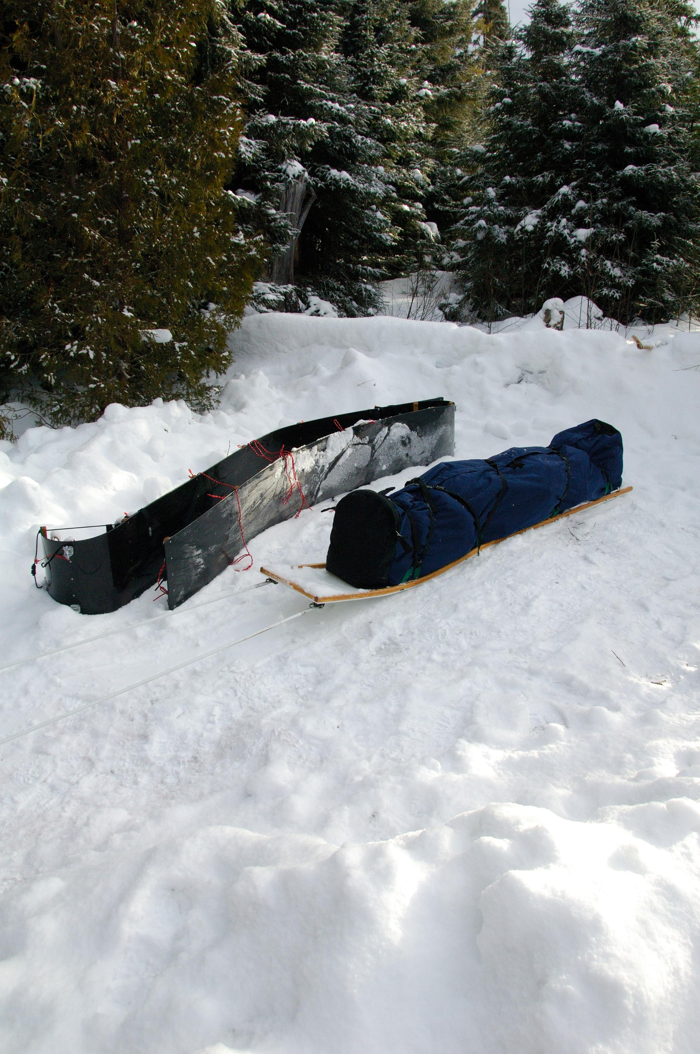 Long Sleds and bag