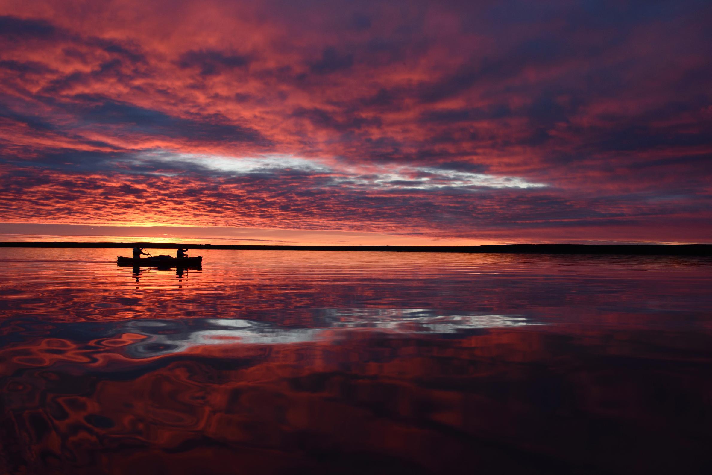 peacefull sunset 11:30PM