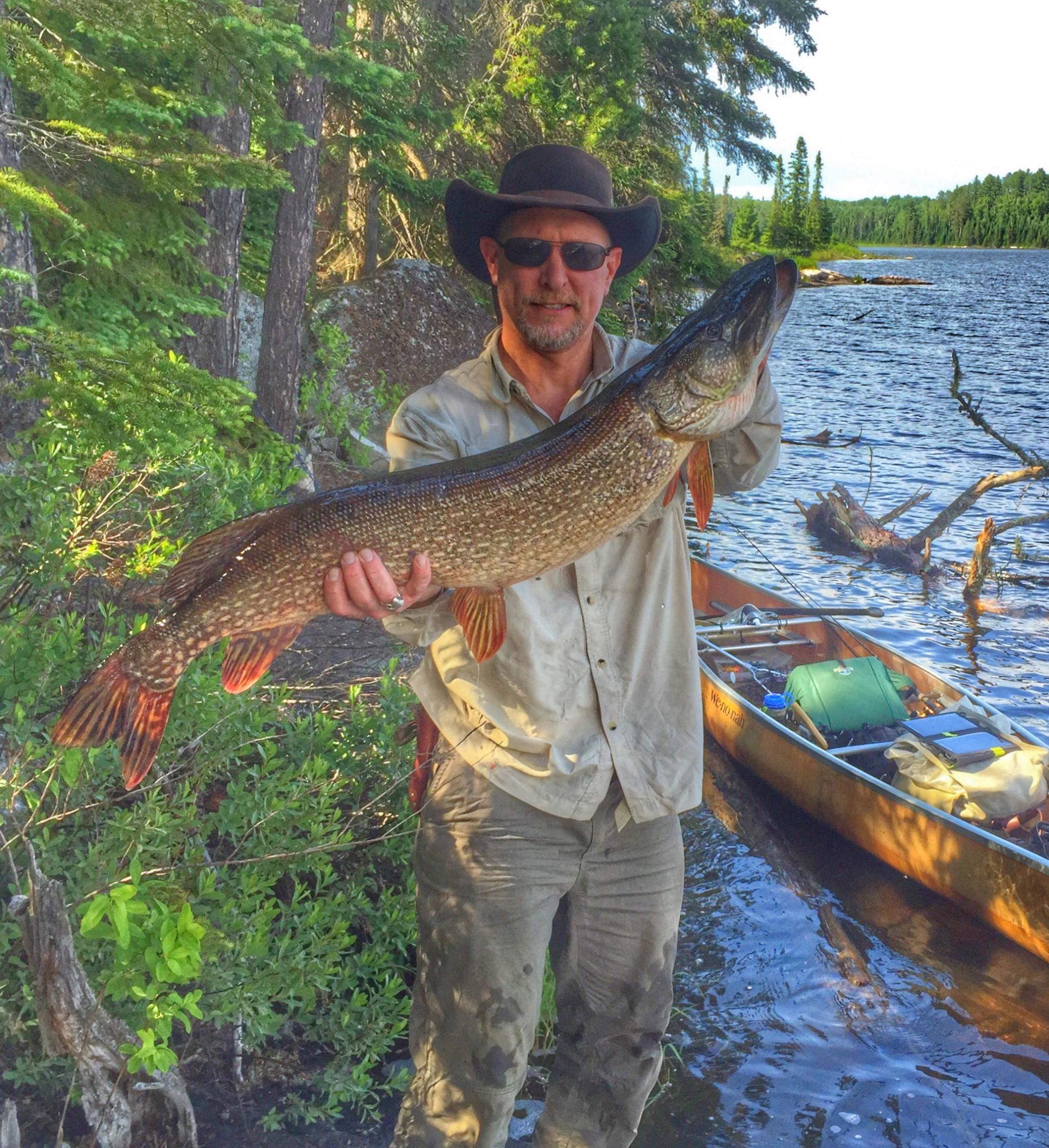 Bwca shell lake pike boundary waters fishing forum for Boundary waters fishing