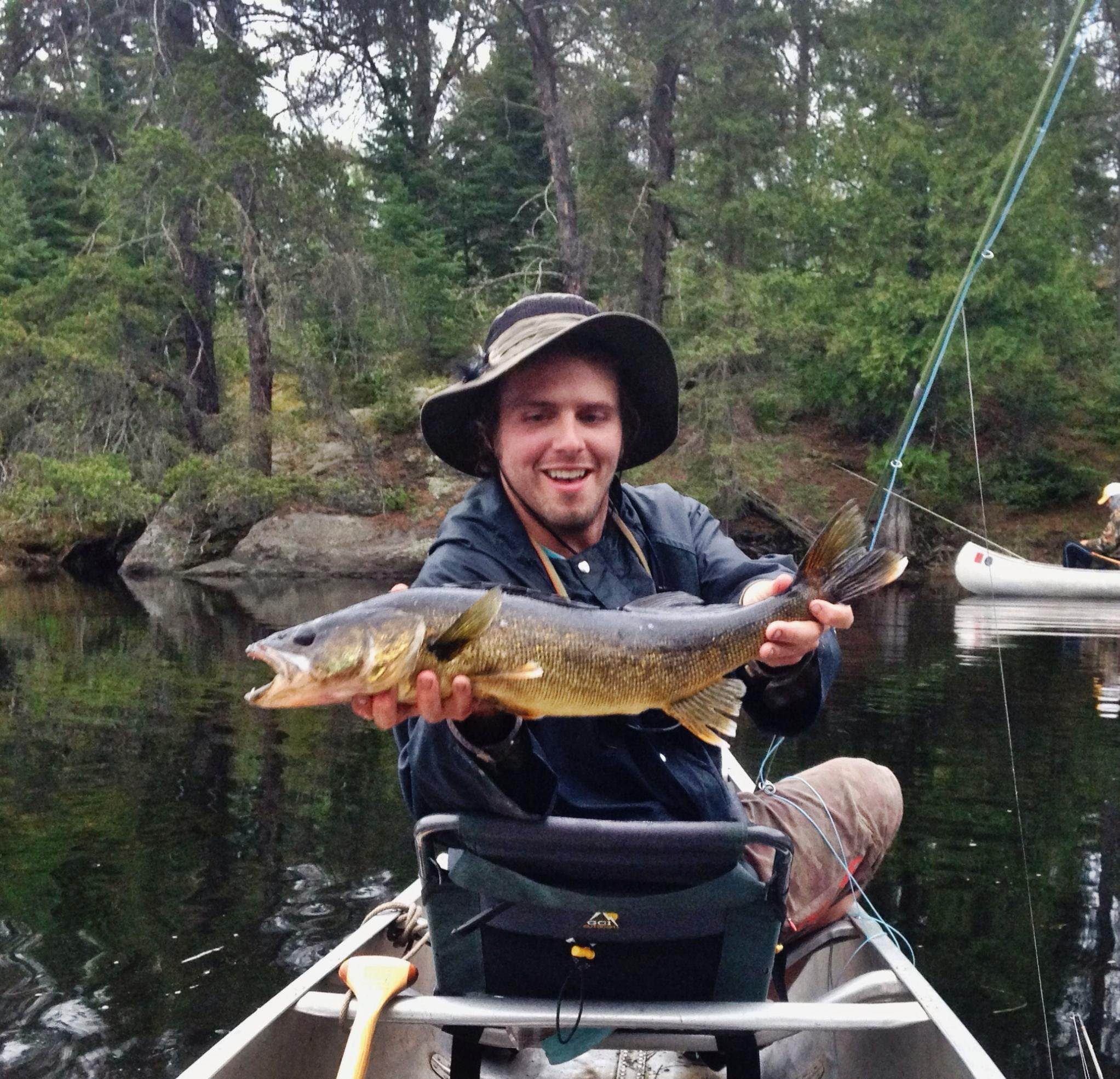 Bwca fly fishing for pike or smallies boundary waters for Pike fly fishing