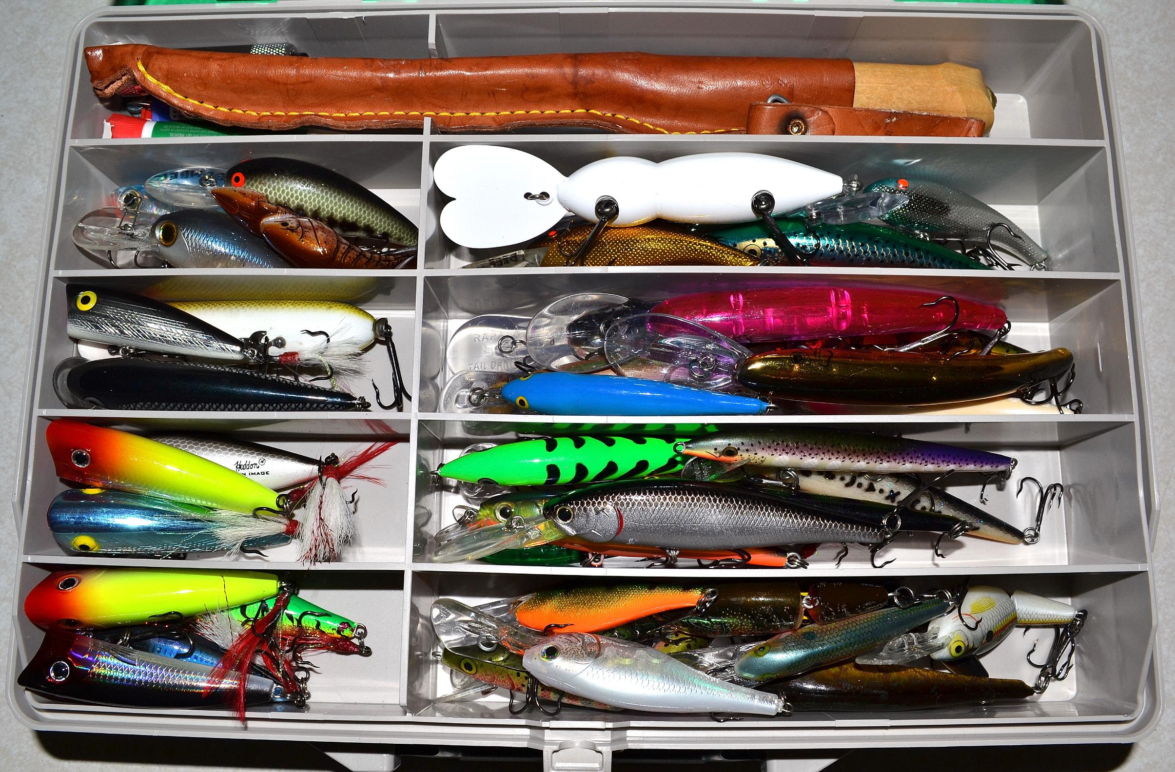 Bwca may june tackle box boundary waters fishing forum for Fishing gear and tackle