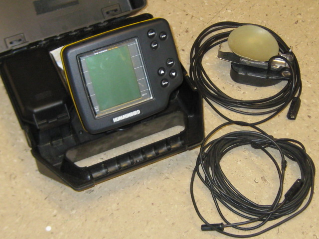 bwca hummingbird portable locator boundary waters fishing forum, Fish Finder