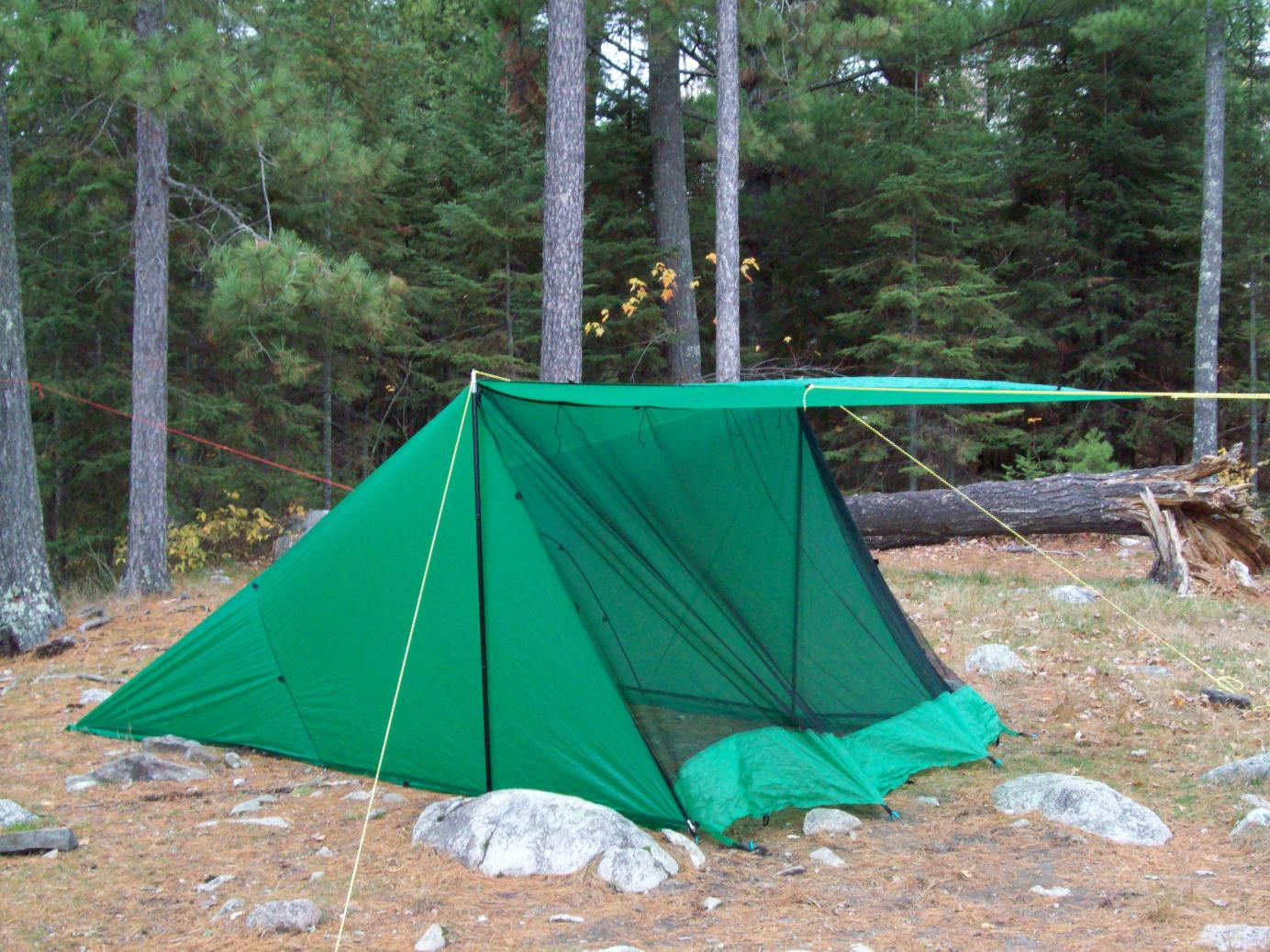Acts as both tent and tarp on my solo trips and on a tandem trip Iu0027ll bring a extra CCS tarp. & BWCA tarp shelter vs. freestanding tent Boundary Waters Gear Forum