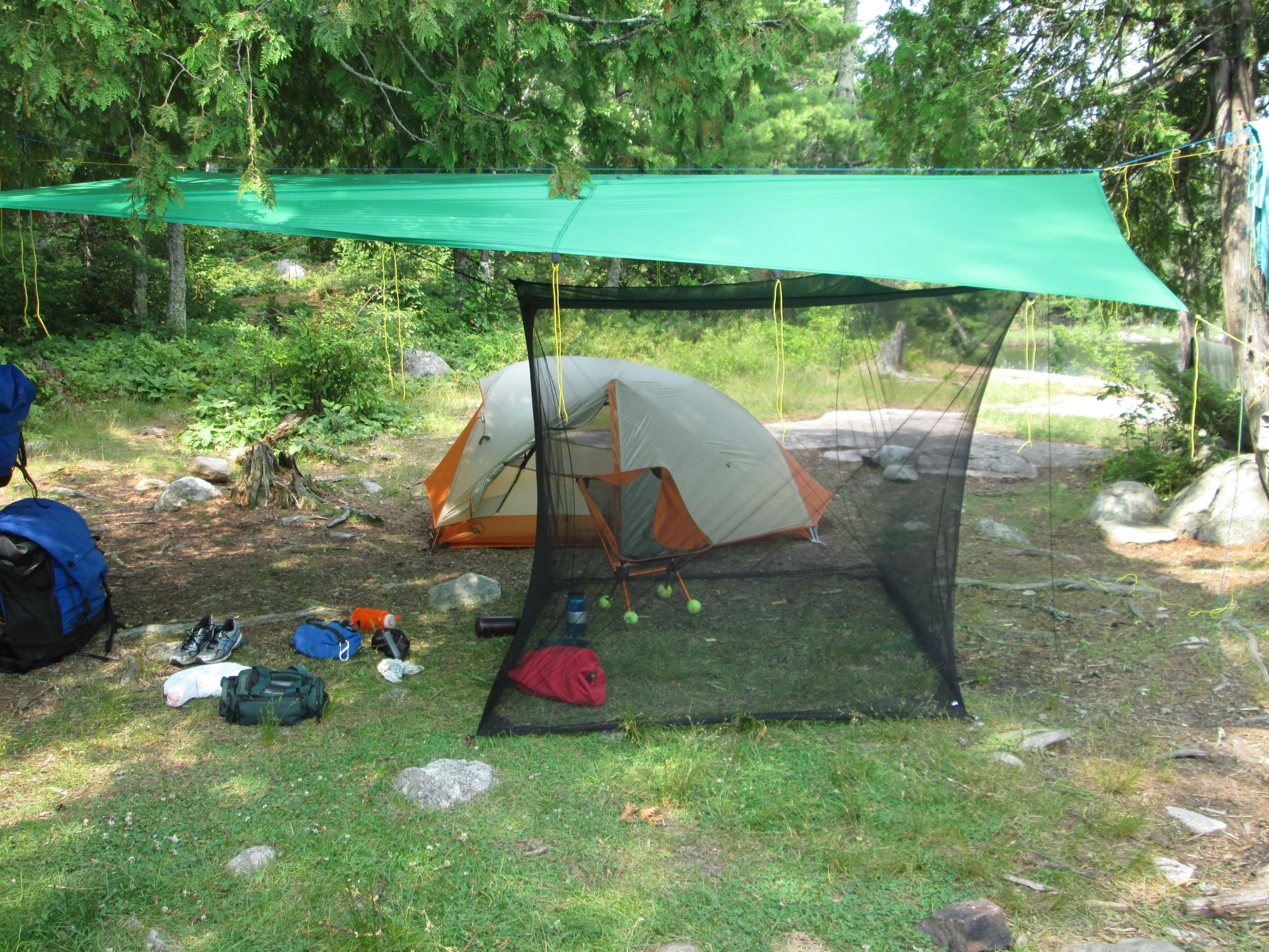 Text & BWCA Sea to Summit Mosquito Box Net Shelter (Double) Review ...
