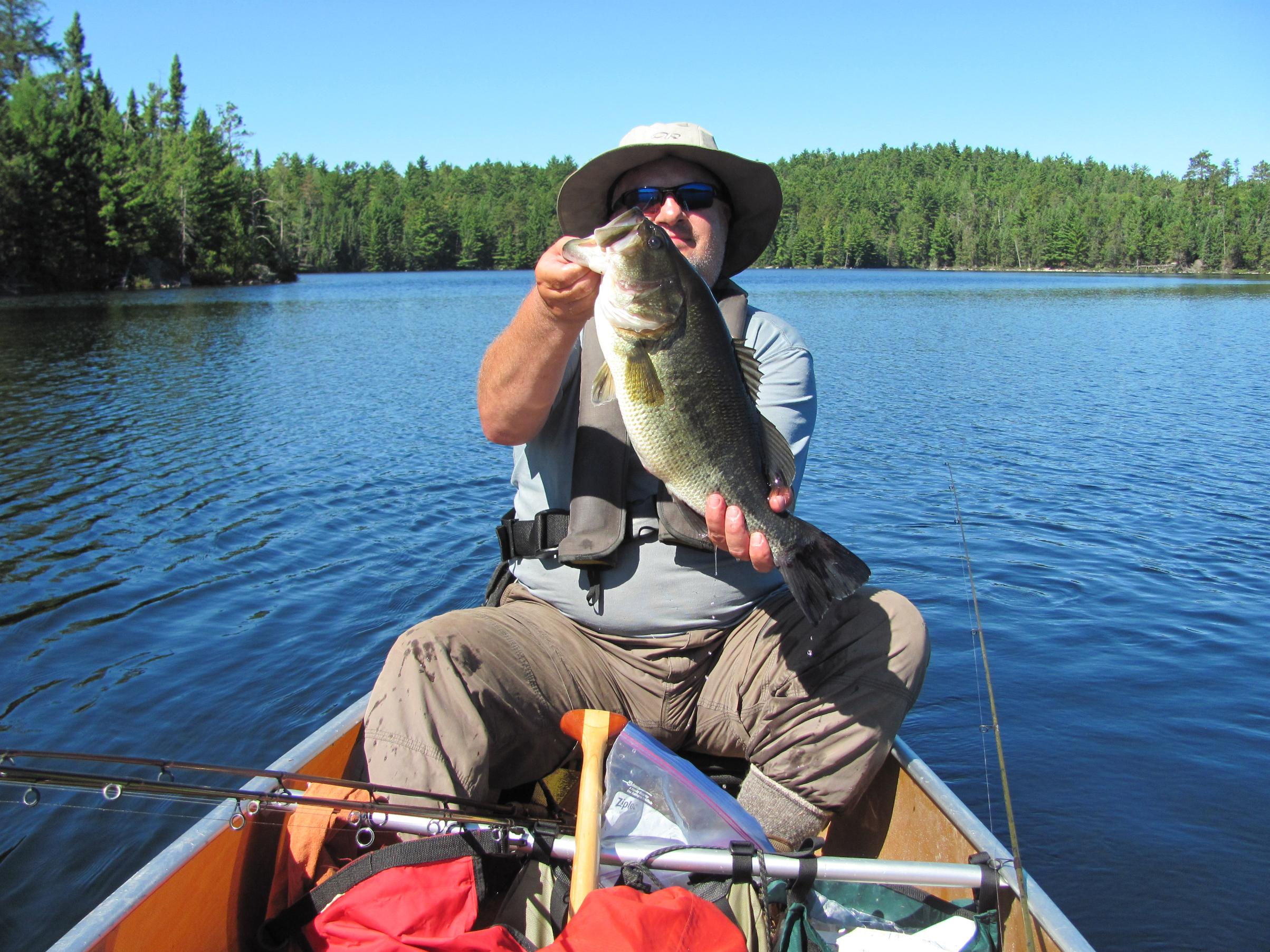 Big Largemouth from Quetico
