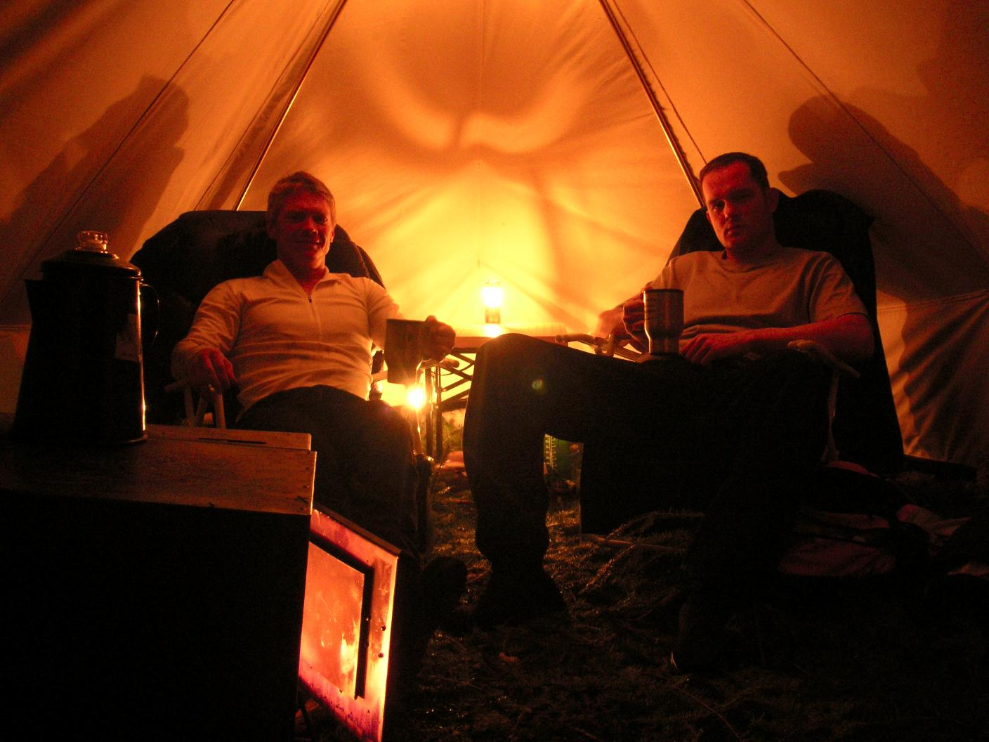 & BWCA snowtrekker tents Boundary Waters Winter Camping and Activities