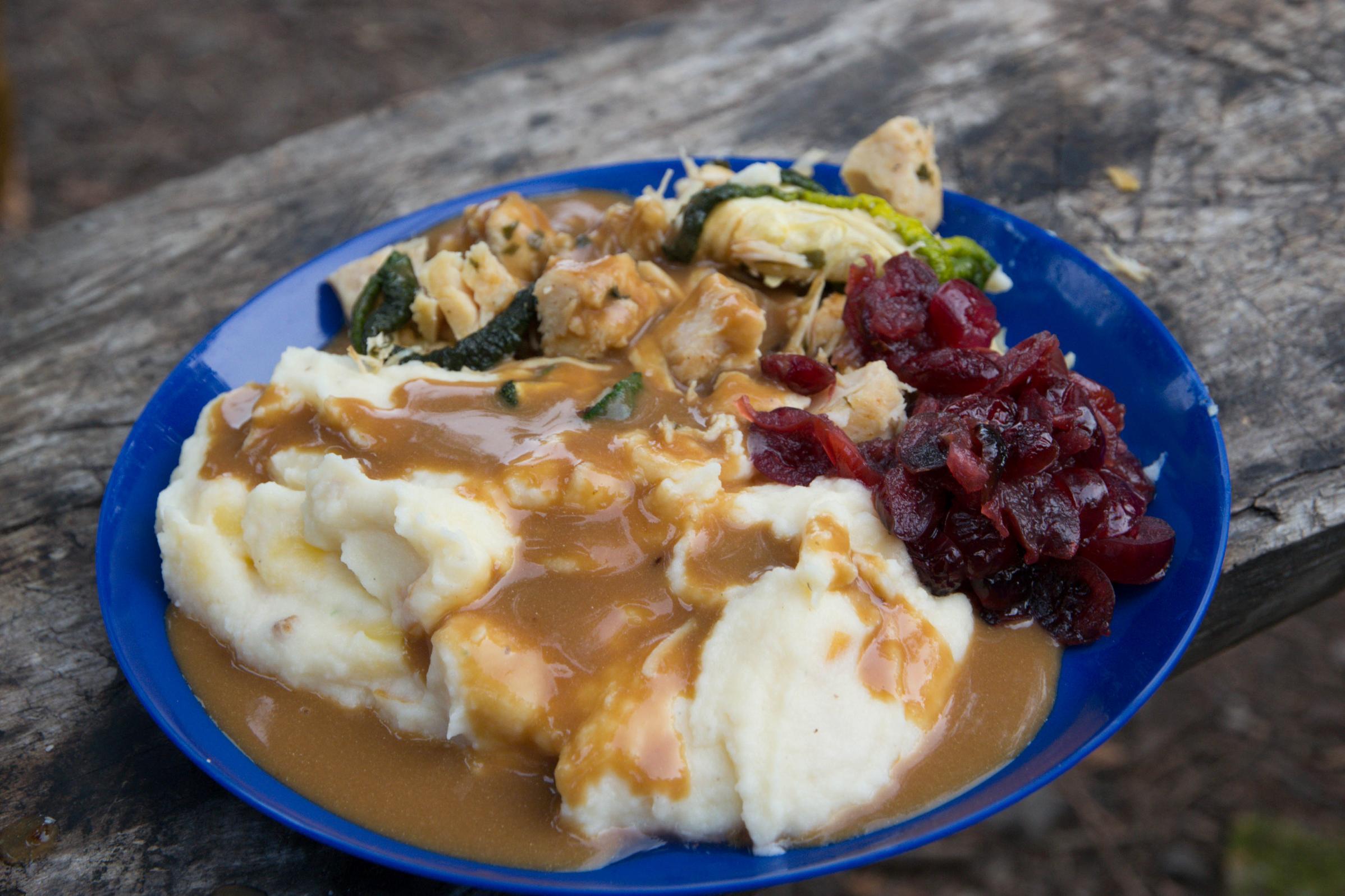 Thanksgiving dinner on Insula