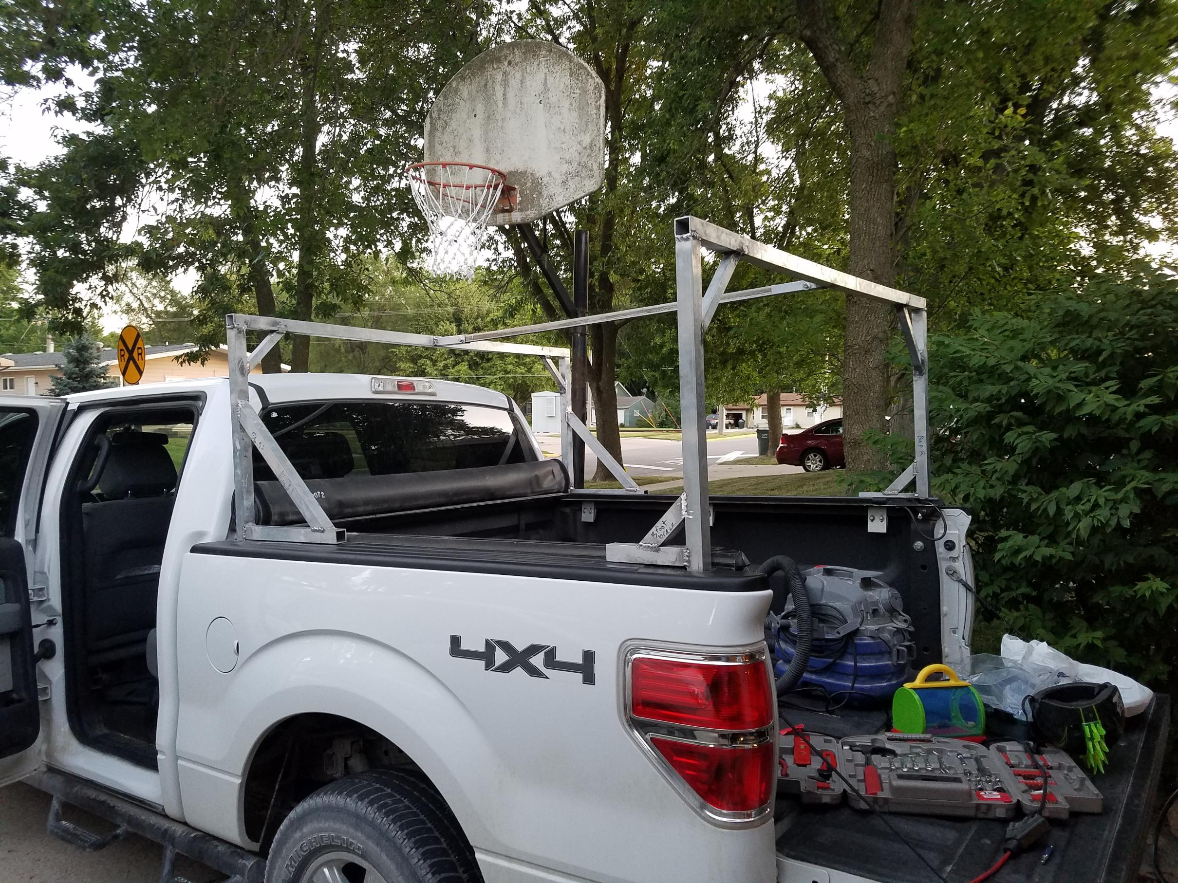 Bed Rack after install