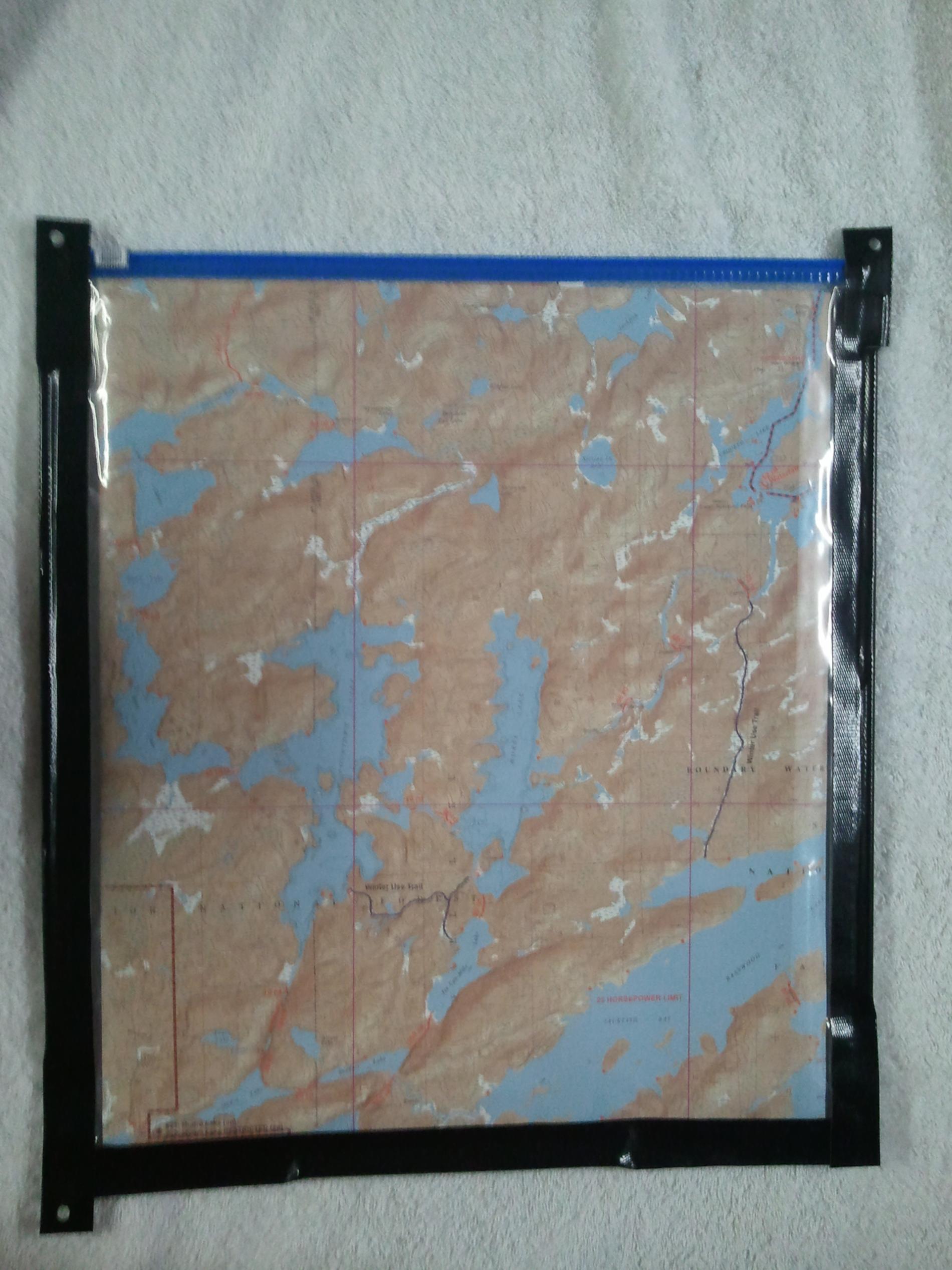 DIY map case
