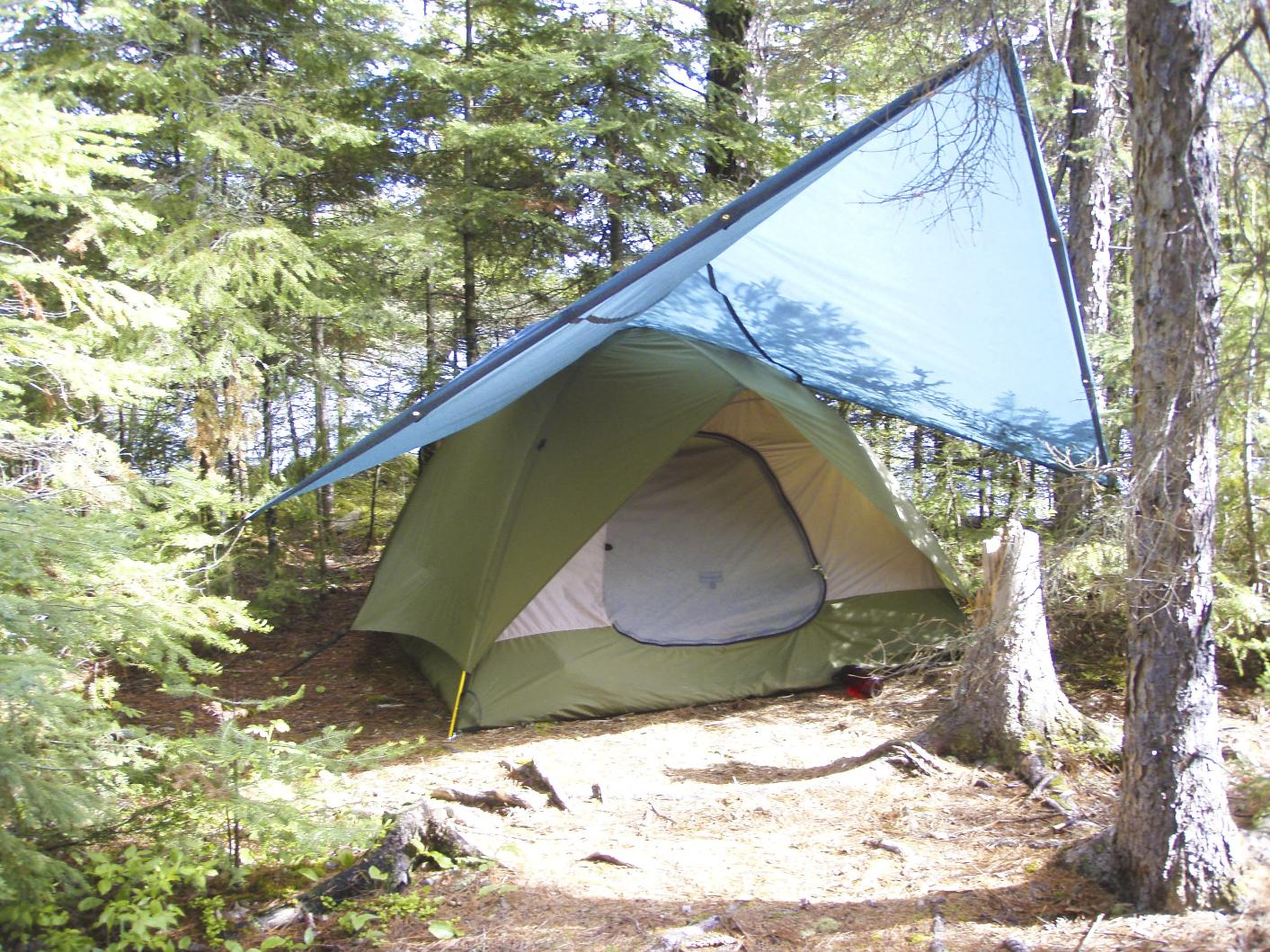 & BWCA Storm Tarp Rigs Boundary Waters Gear Forum