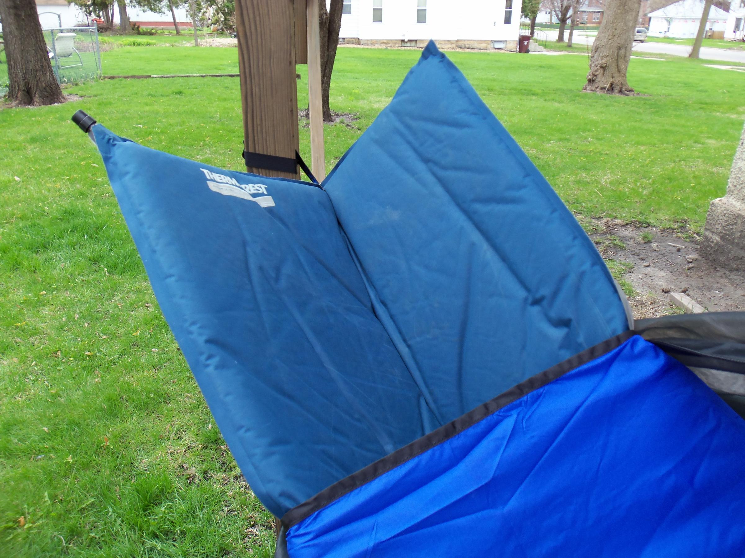 does have mosquito  ting and have tarp to cover  plus it has a sleeve on inside to hold a sleeping pad from sliding around  either i start to use it or     bwca crazy creek hammock boundary waters gear forum  rh   bwca