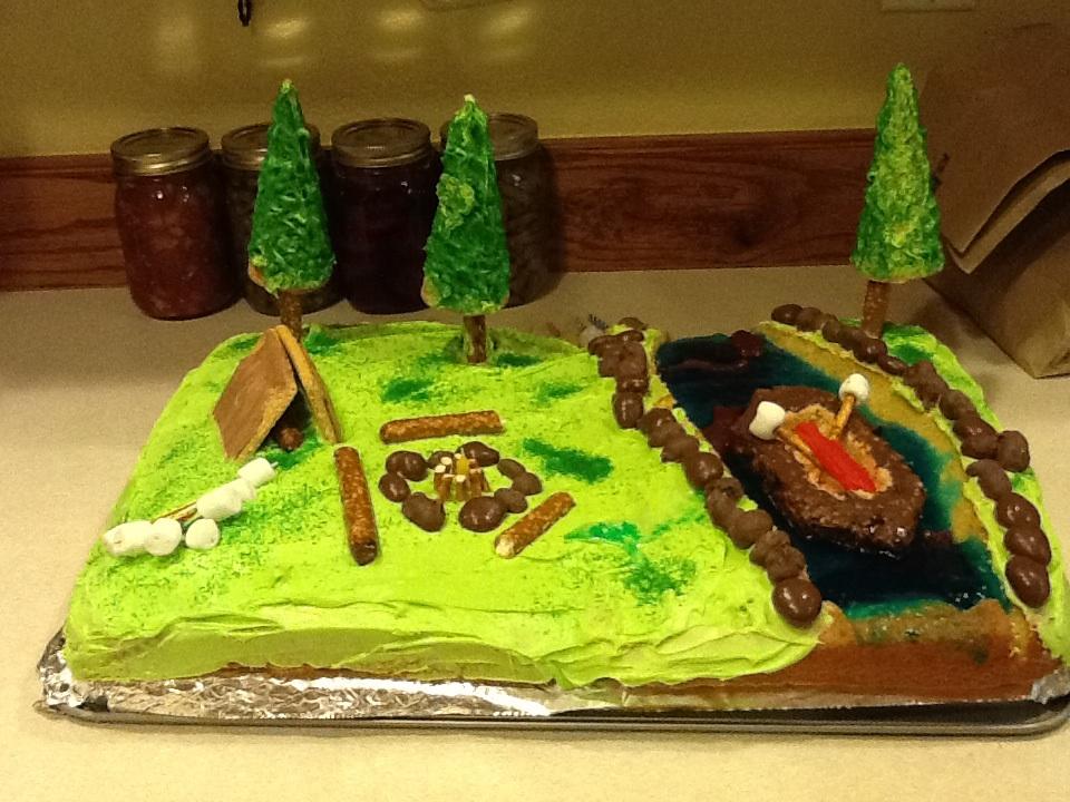 Bwca Cute Birthday Cake Boundary Waters Listening Point