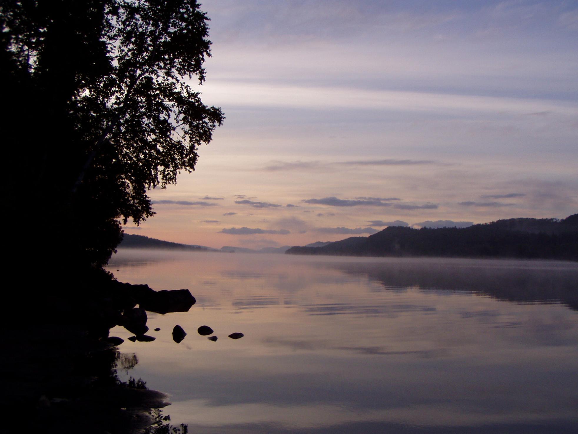 Pine Lake Sunrise-BWCAW-1