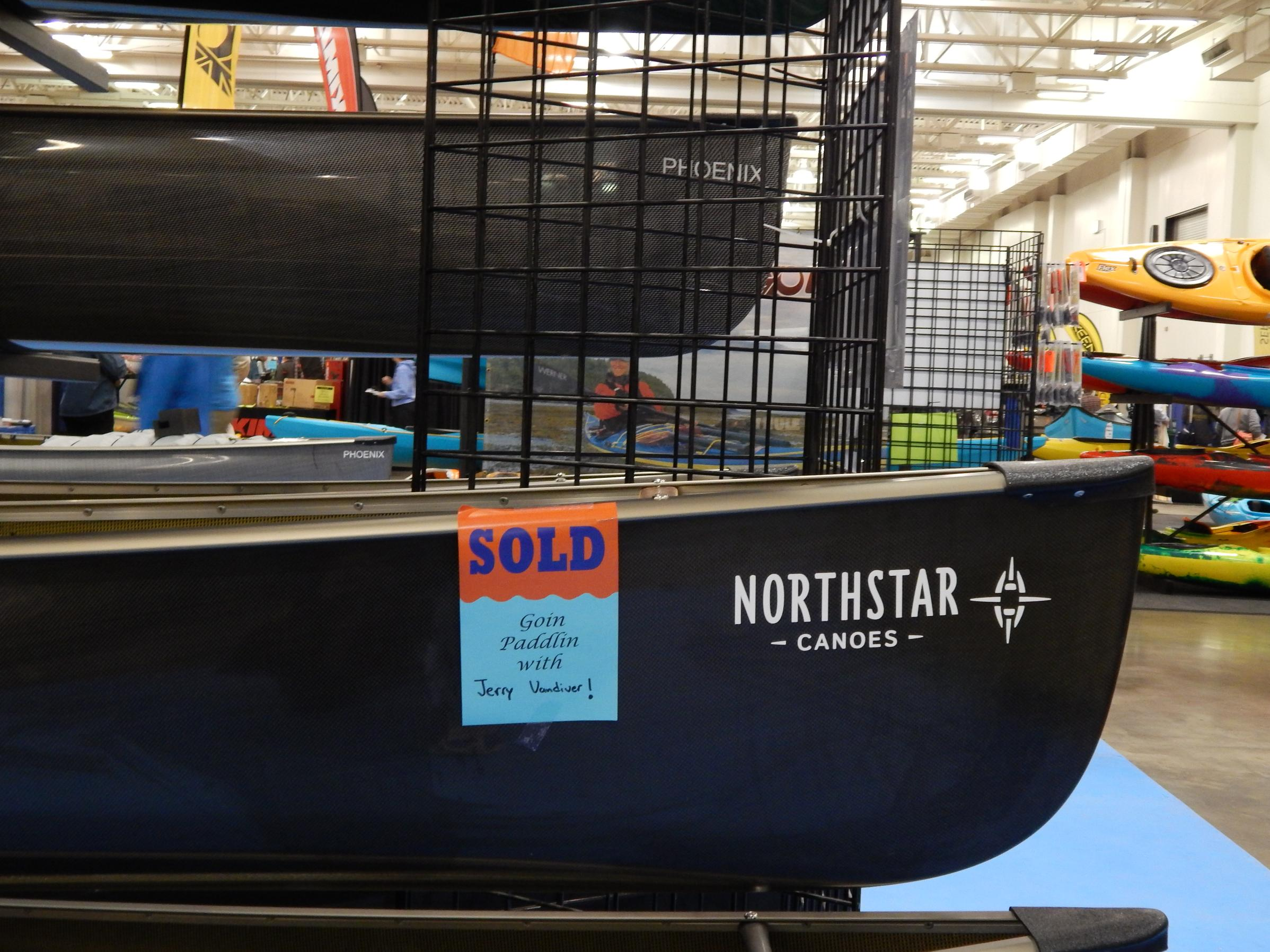 Close up of Jerry's new Northstar Magic