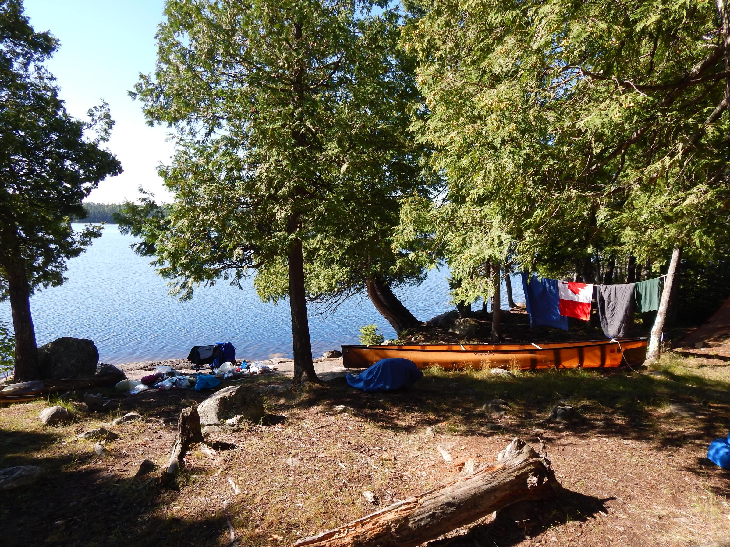 Oyster Lake Campsite-2