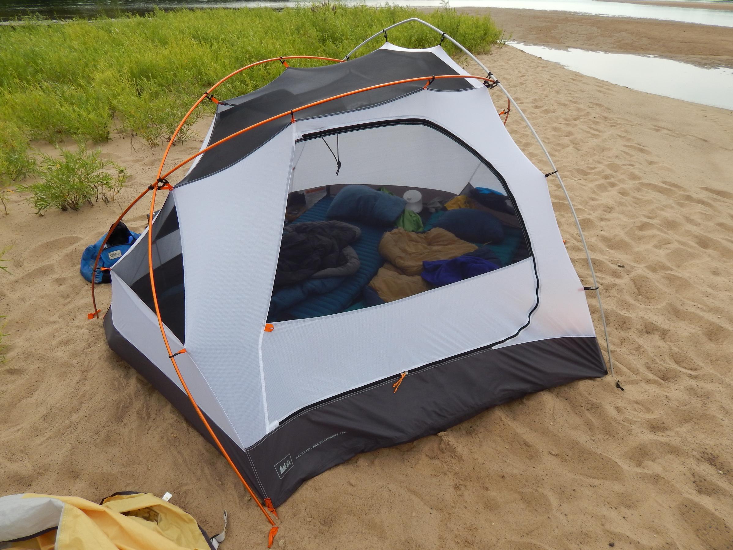 Taj3 with sleeping bags & Pads