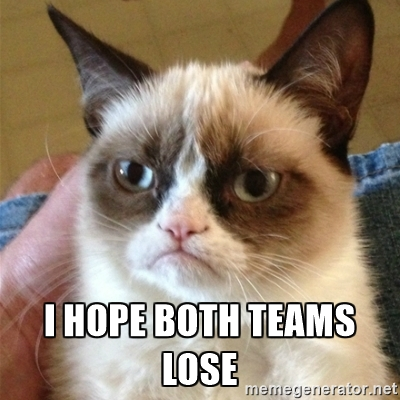 Grumpy kitty