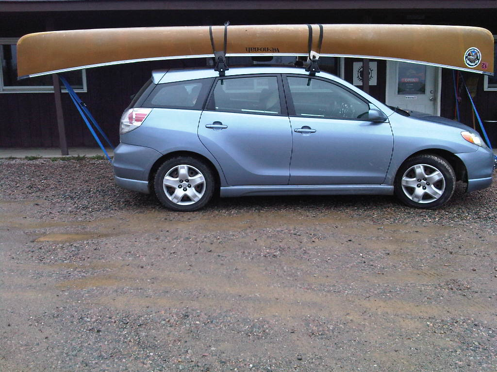 Bwca Gear For Canoe Carry On A Small Car Boundary Waters