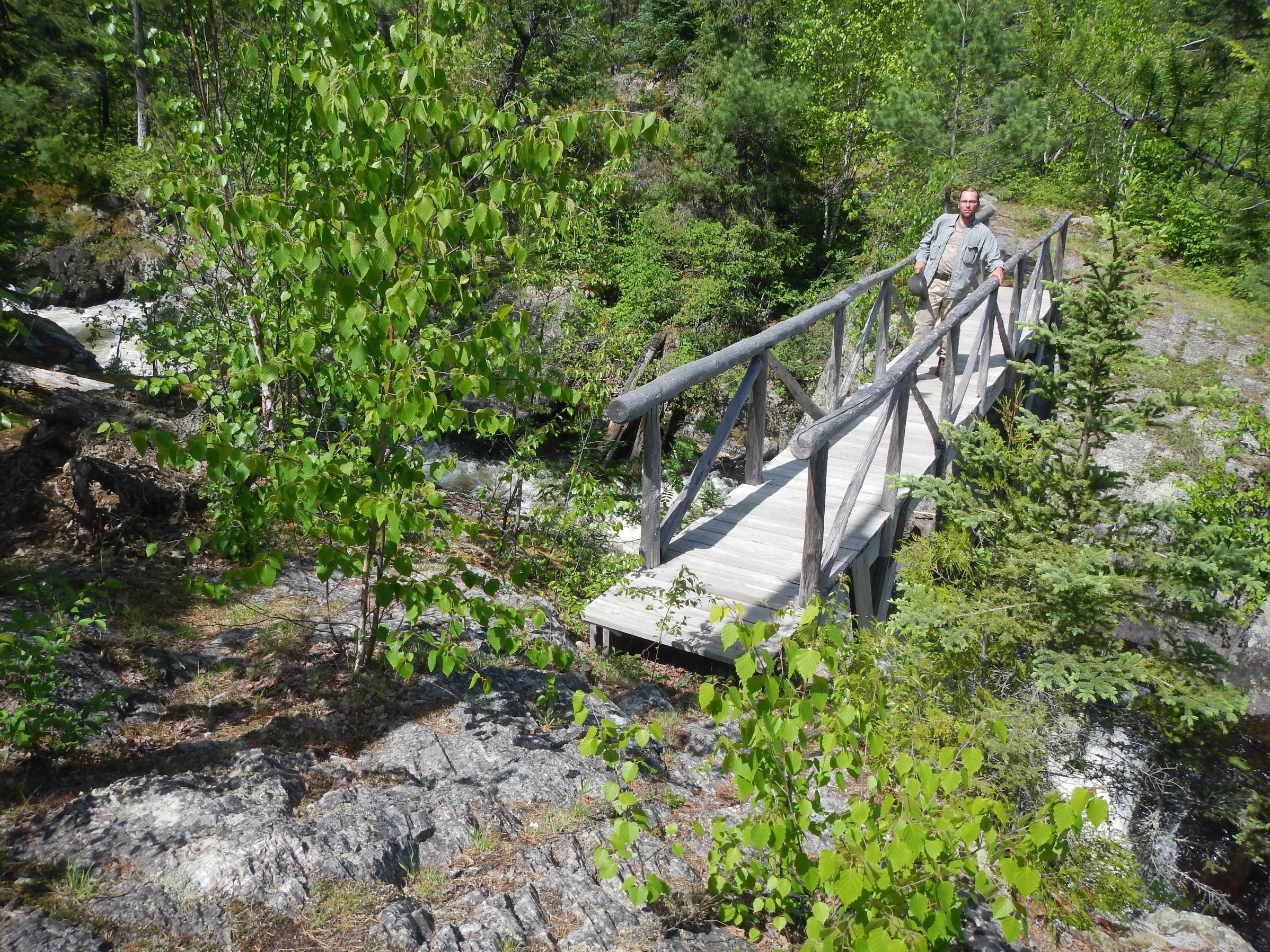 Bridge Crossing Mueller Falls