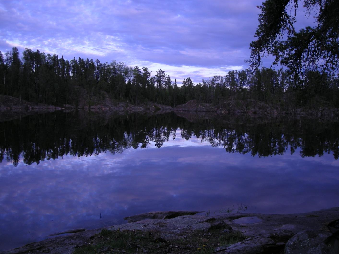 Little Loon Lake reflections