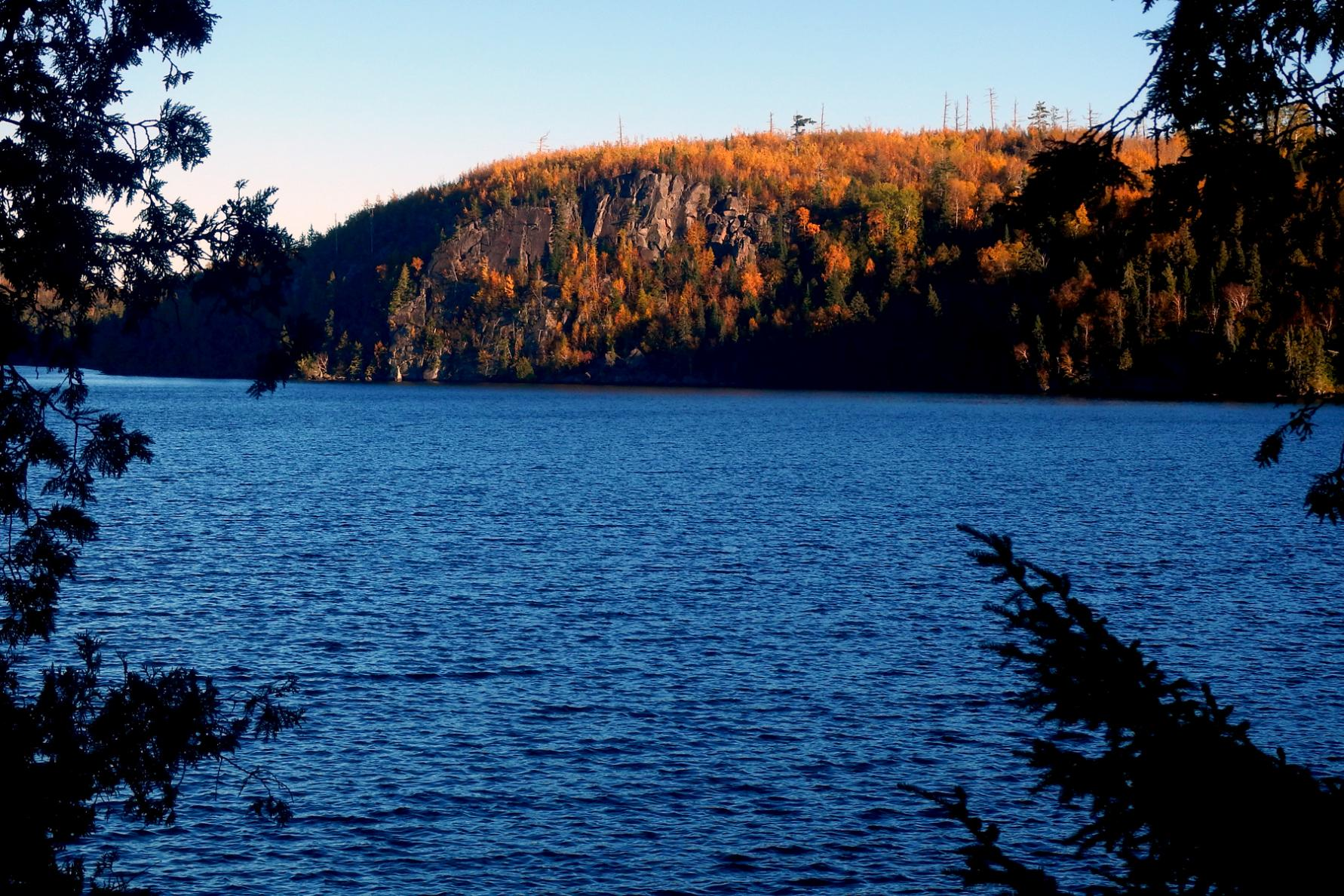 Cliffs on Winchell Lake