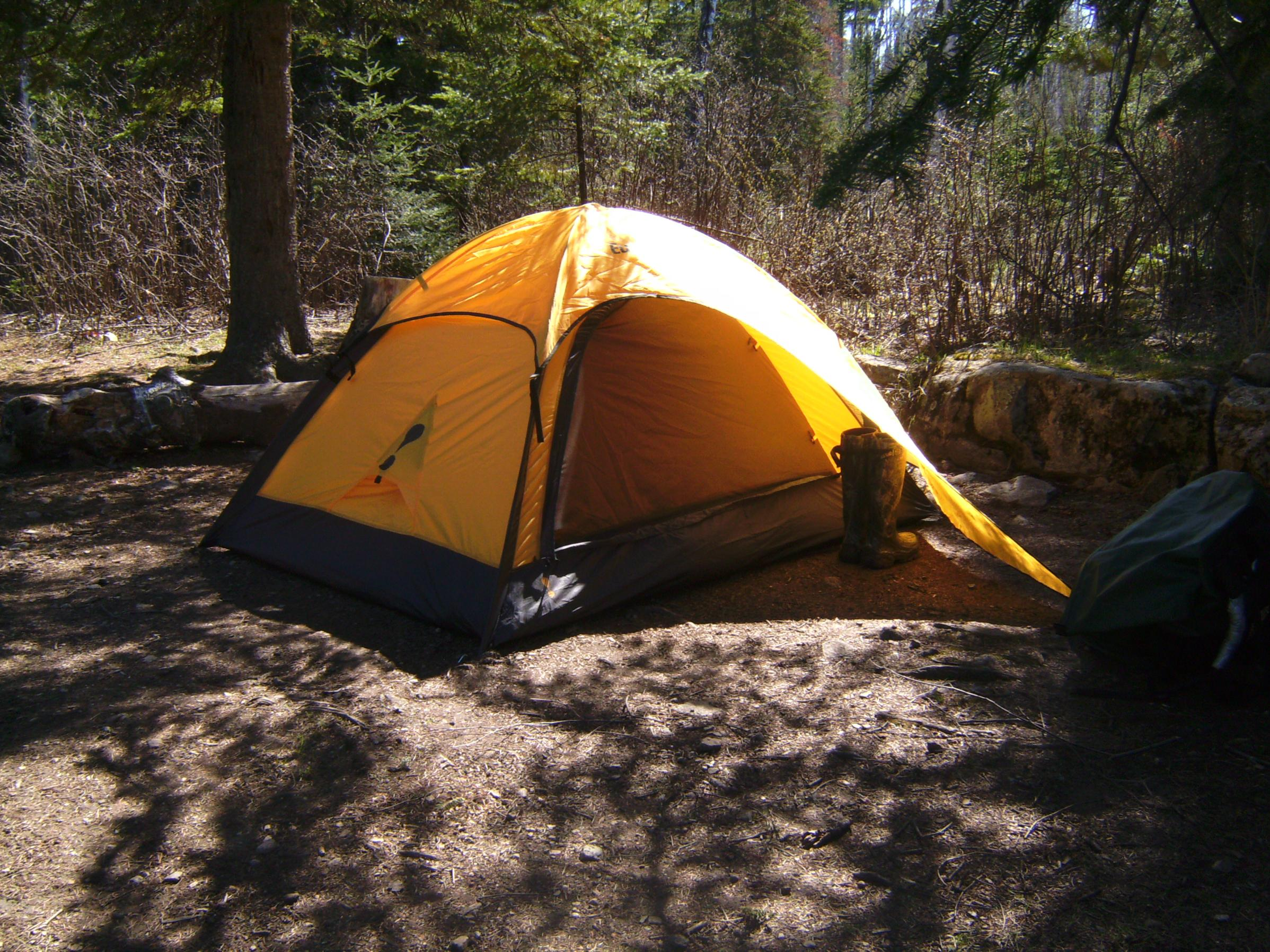 What about a Eureka spitfire 1 2# 12oz. My other tent is Apex 2 man and have had good luck with no problems. My first tent was a 4 man Timberline ... & BWCA Solo Tents Boundary Waters Gear Forum