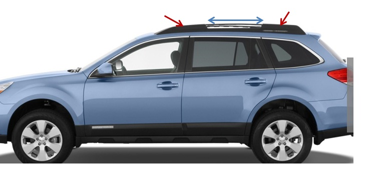 Bwca Yakima Racks On A 2013 Subaru Outback Boundary Waters
