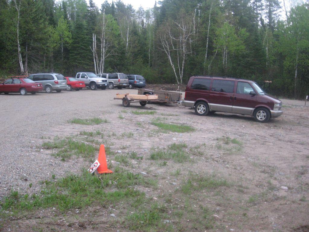 Quetico Beaverhouse Parking Lot
