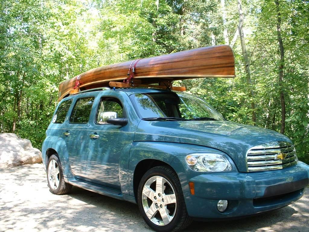 Bwca Homemade Canoe Car Rack Boundary Waters Gear Forum
